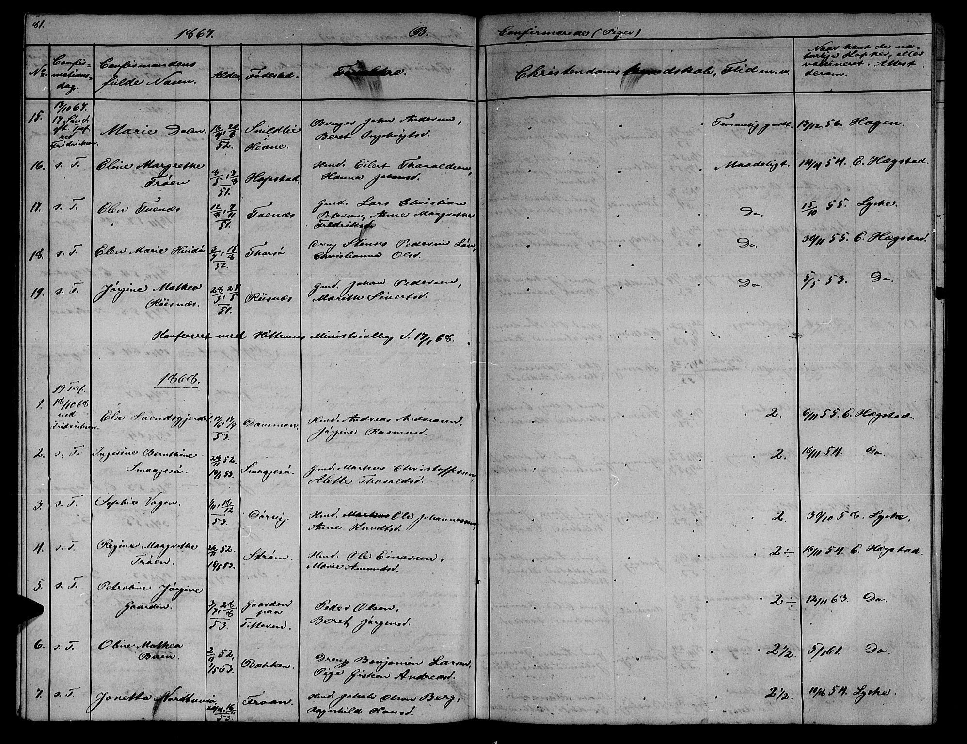 SAT, Ministerialprotokoller, klokkerbøker og fødselsregistre - Sør-Trøndelag, 634/L0539: Klokkerbok nr. 634C01, 1866-1873, s. 81
