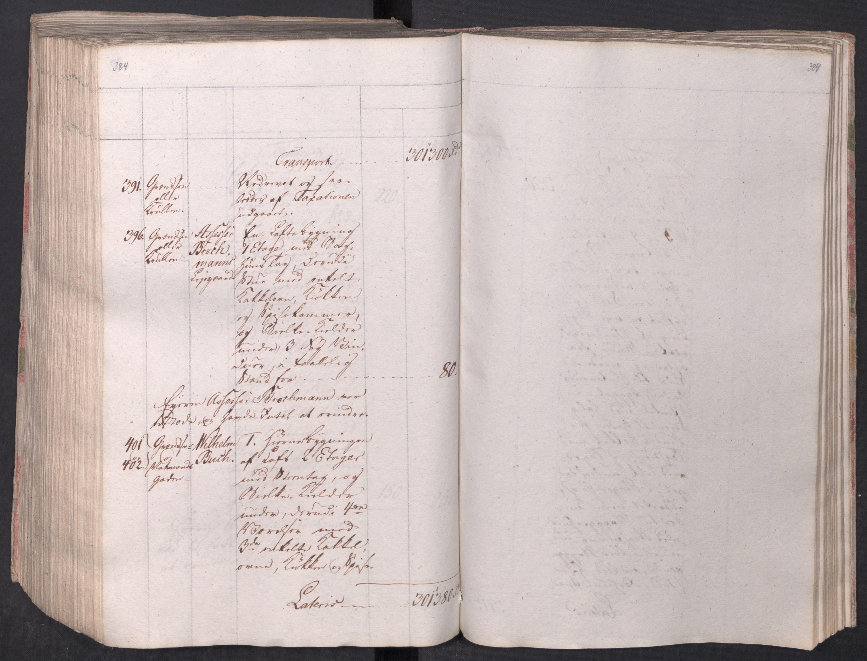 SAO, Kristiania stiftamt, I/Ia/L0015: Branntakster, 1797, s. 384