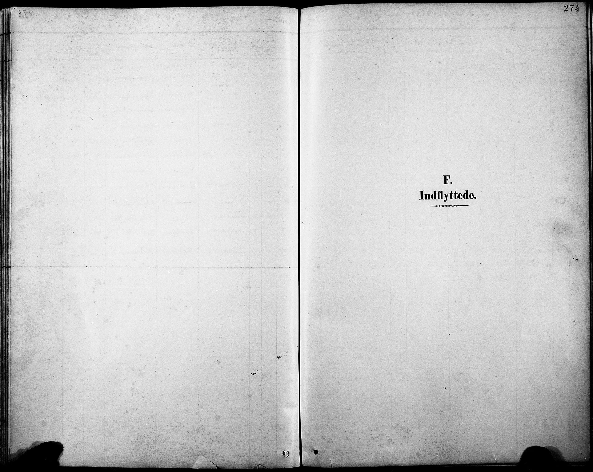 SAB, Askvoll sokneprestembete, H/Hab/Haba/L0003: Klokkerbok nr. A 3, 1886-1928, s. 274