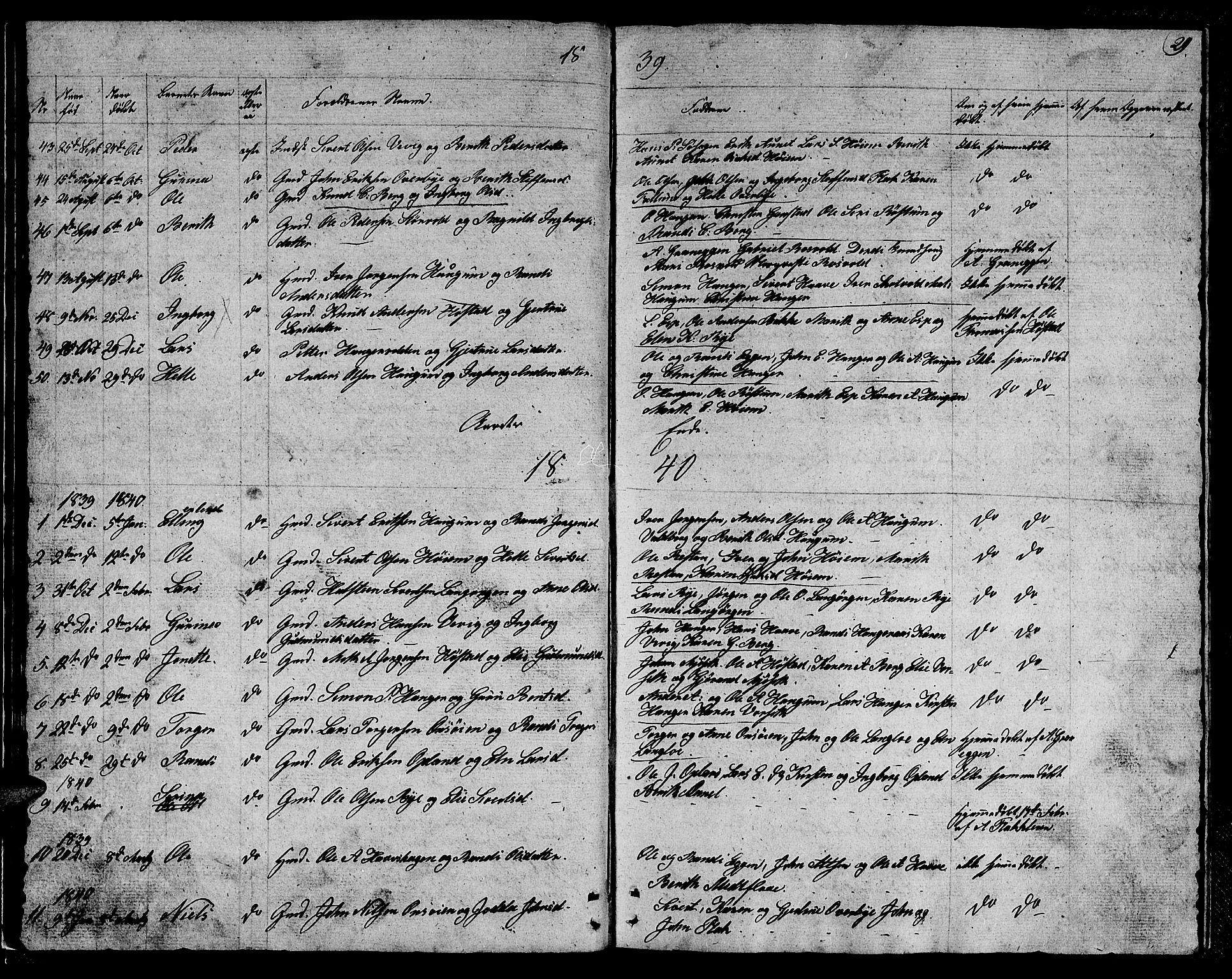 SAT, Ministerialprotokoller, klokkerbøker og fødselsregistre - Sør-Trøndelag, 612/L0386: Klokkerbok nr. 612C02, 1834-1845, s. 29