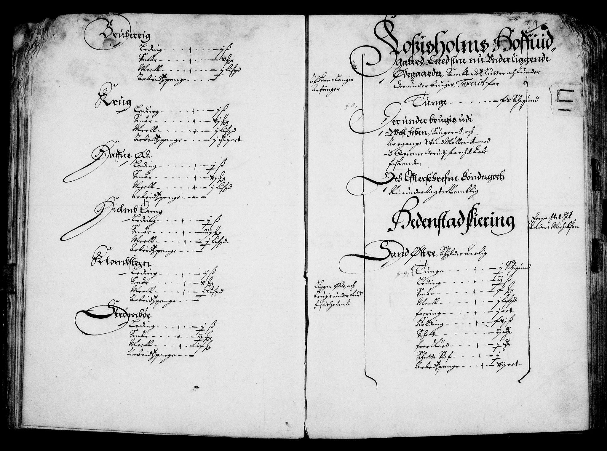 RA, Rentekammeret inntil 1814, Realistisk ordnet avdeling, On/L0001: Statens gods, 1651, s. 30