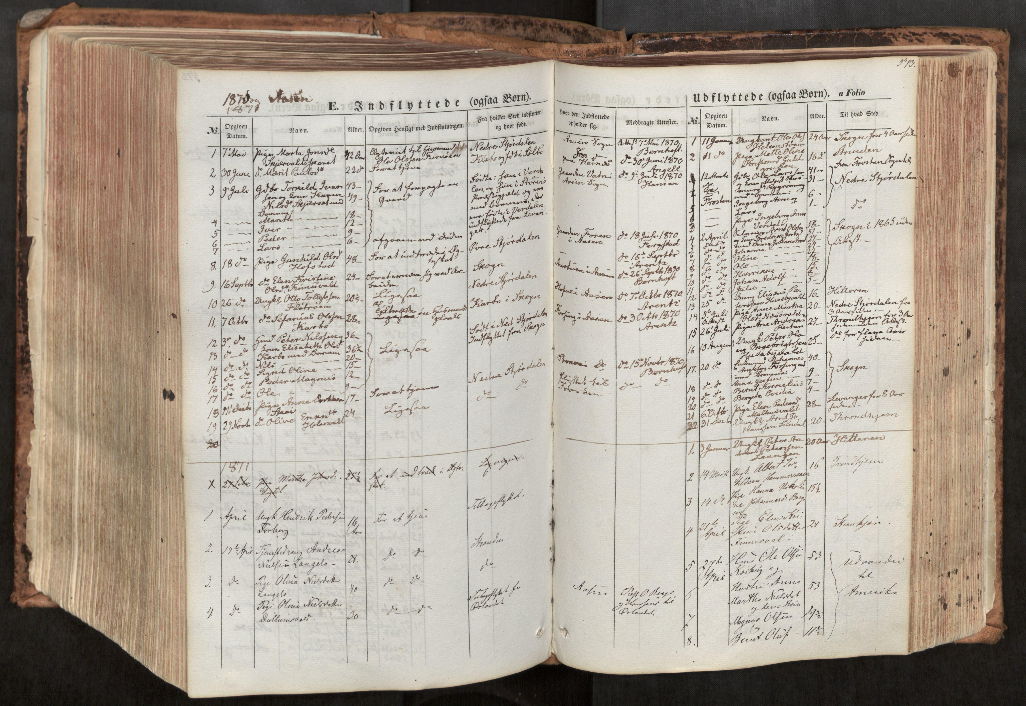 SAT, Ministerialprotokoller, klokkerbøker og fødselsregistre - Nord-Trøndelag, 713/L0116: Ministerialbok nr. 713A07, 1850-1877, s. 573