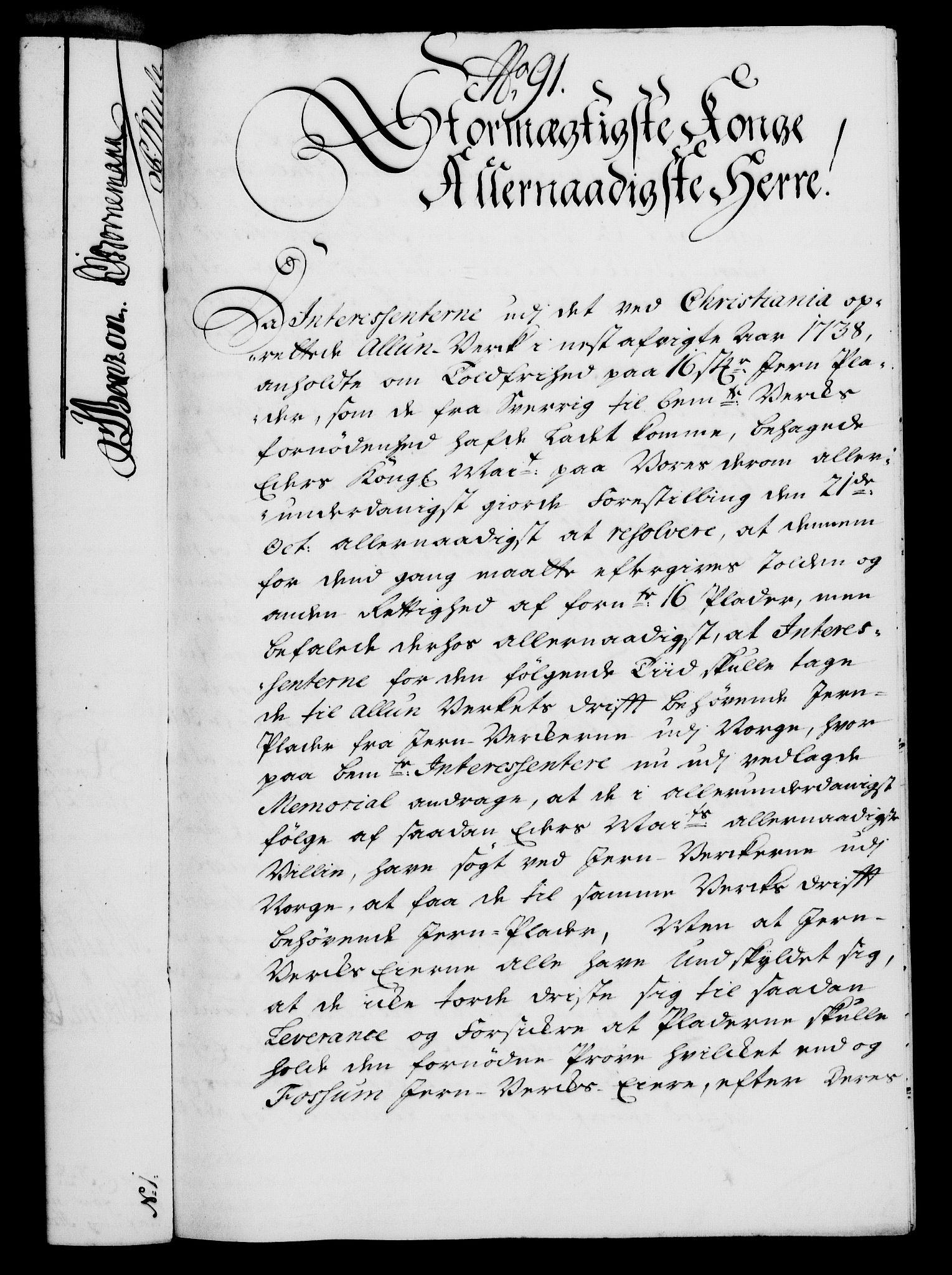 RA, Rentekammeret, Kammerkanselliet, G/Gf/Gfa/L0022: Norsk relasjons- og resolusjonsprotokoll (merket RK 52.22), 1739, s. 677