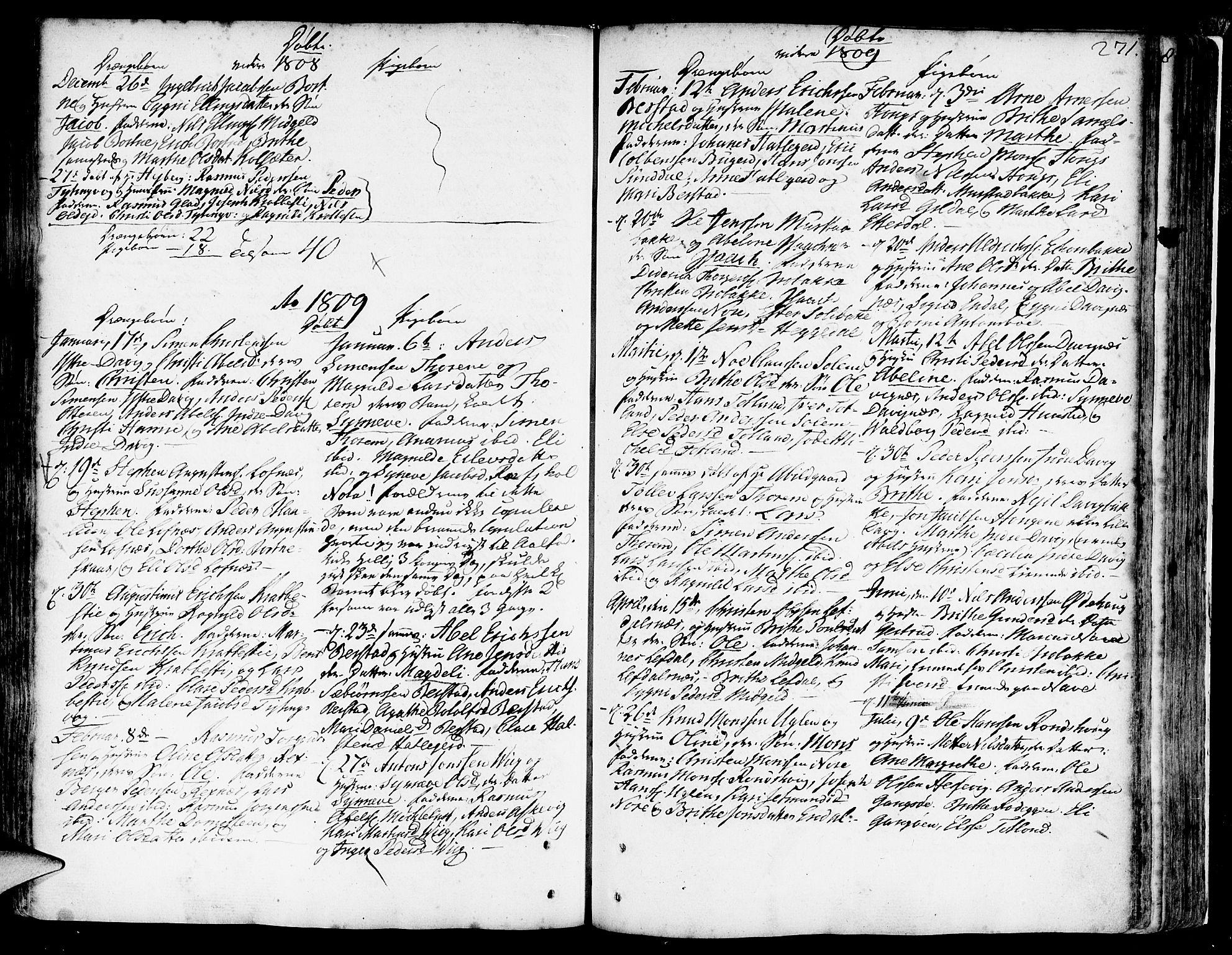 SAB, Davik Sokneprestembete, Ministerialbok nr. A 2, 1742-1816, s. 271