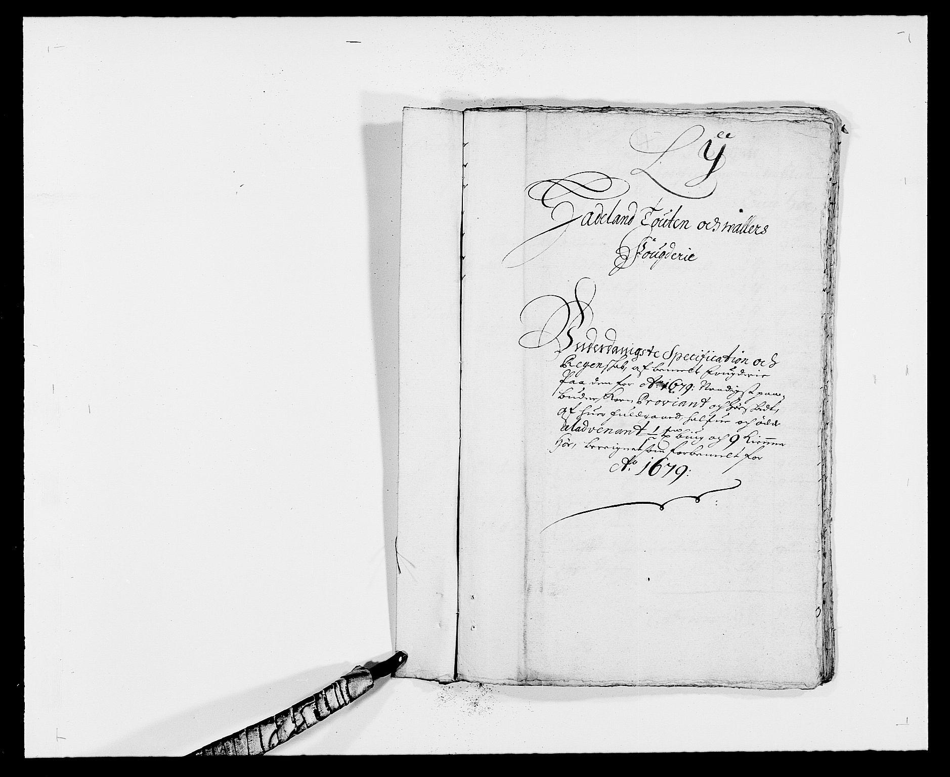 RA, Rentekammeret inntil 1814, Reviderte regnskaper, Fogderegnskap, R18/L1274: Fogderegnskap Hadeland, Toten og Valdres, 1679, s. 116