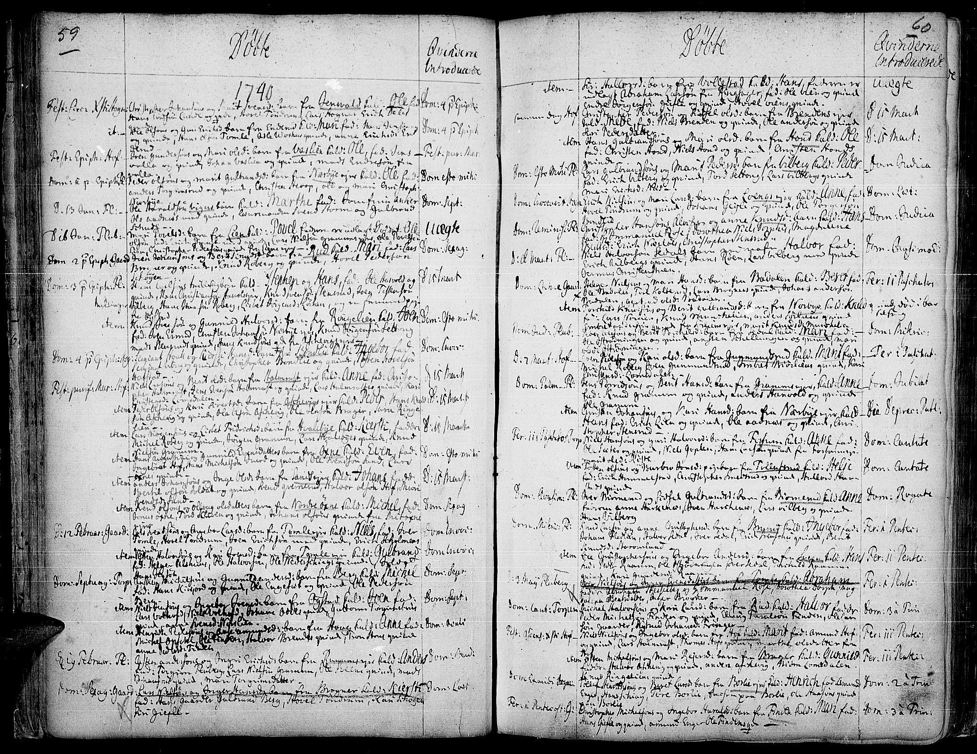 SAH, Land prestekontor, Ministerialbok nr. 2, 1733-1764, s. 59-60