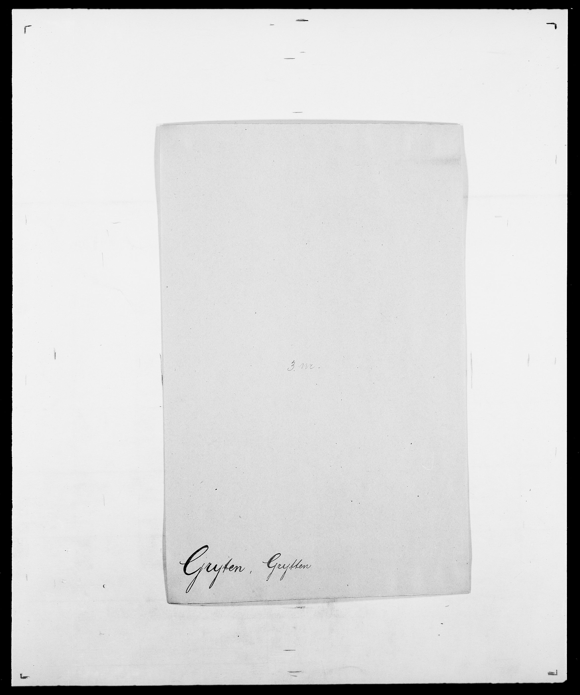 SAO, Delgobe, Charles Antoine - samling, D/Da/L0015: Grodtshilling - Halvorsæth, s. 143