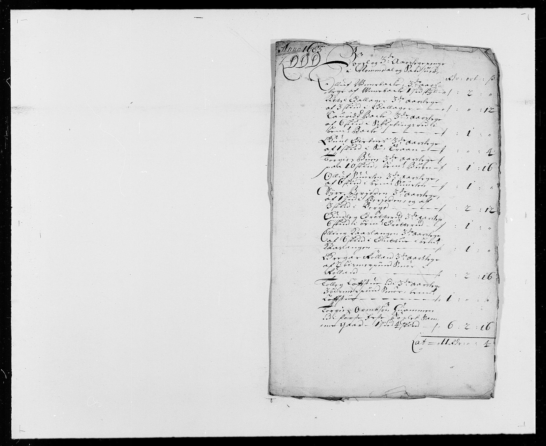 RA, Rentekammeret inntil 1814, Reviderte regnskaper, Fogderegnskap, R24/L1571: Fogderegnskap Numedal og Sandsvær, 1679-1686, s. 259