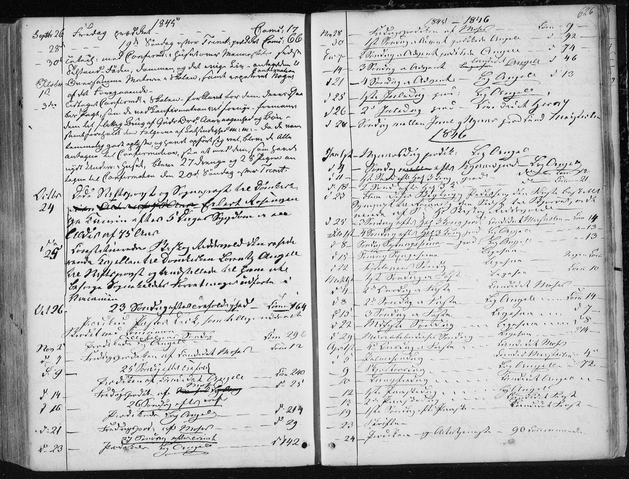 SAT, Ministerialprotokoller, klokkerbøker og fødselsregistre - Sør-Trøndelag, 601/L0049: Ministerialbok nr. 601A17, 1839-1847, s. 626