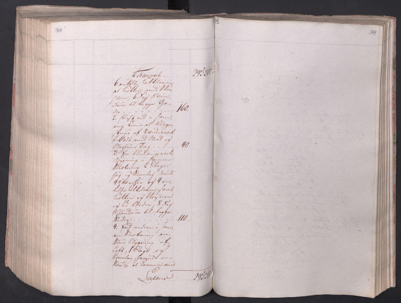 SAO, Kristiania stiftamt, I/Ia/L0015: Branntakster, 1797, s. 364