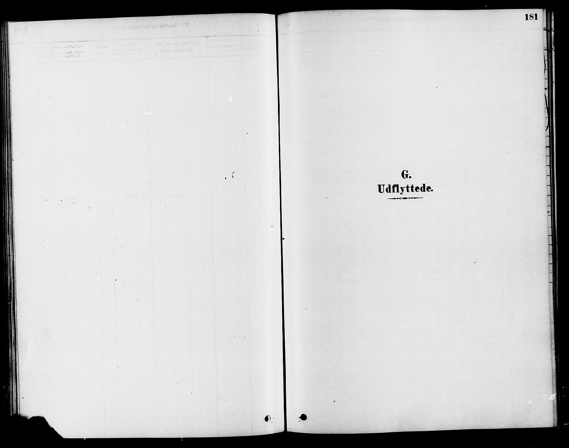 SAH, Søndre Land prestekontor, K/L0002: Ministerialbok nr. 2, 1878-1894, s. 181