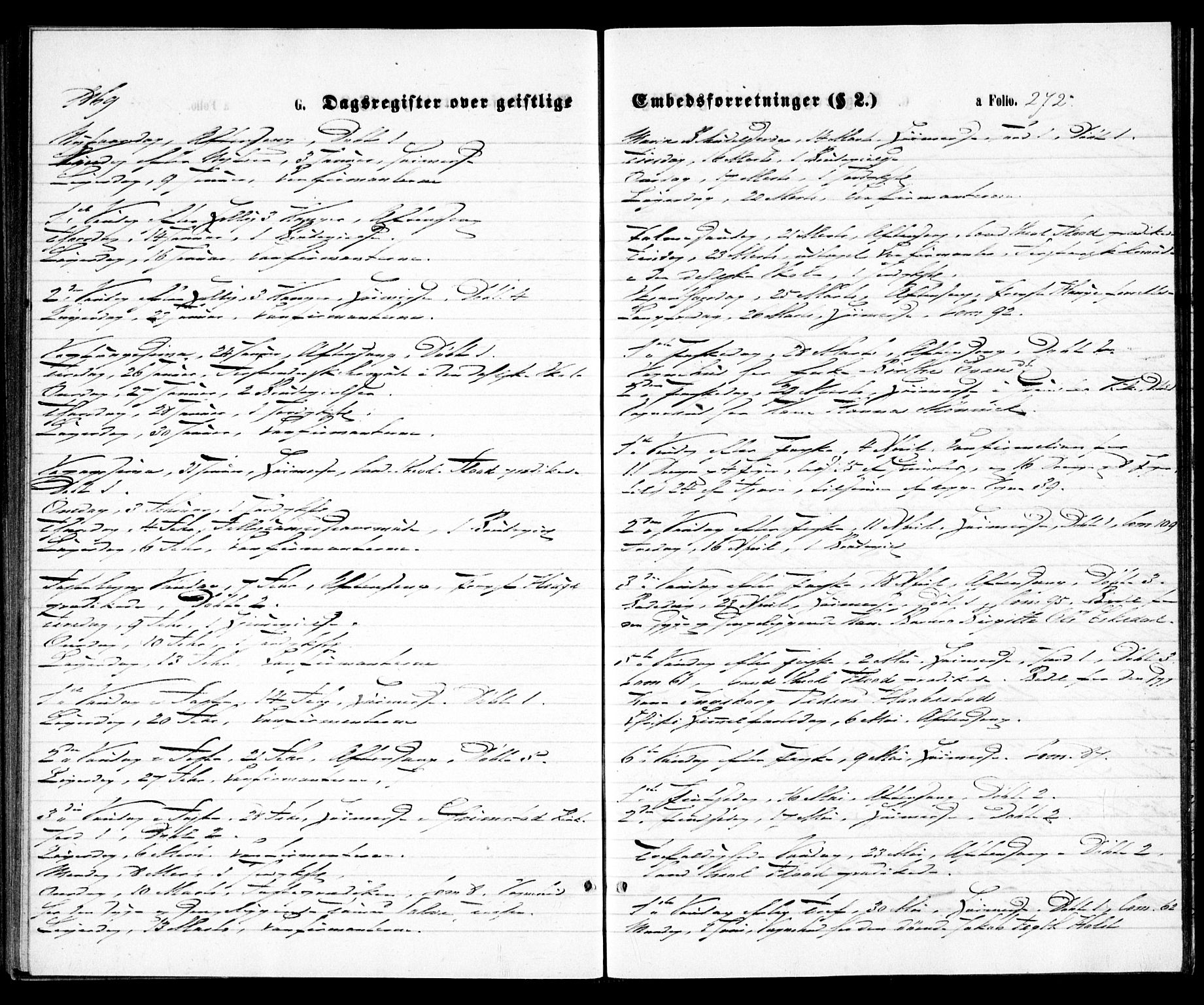 SAK, Grimstad sokneprestkontor, F/Fa/L0002: Ministerialbok nr. A 1, 1869-1881, s. 272