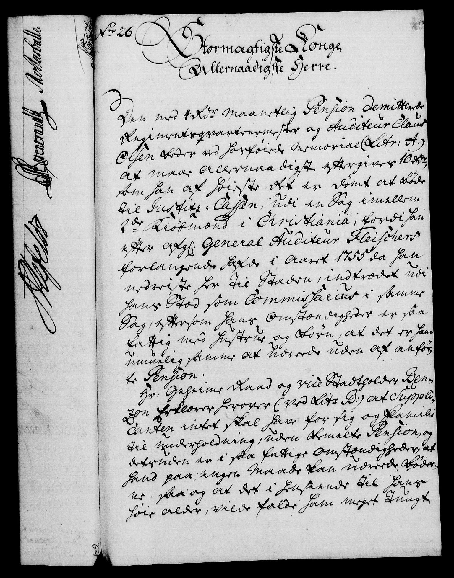 RA, Rentekammeret, Kammerkanselliet, G/Gf/Gfa/L0043: Norsk relasjons- og resolusjonsprotokoll (merket RK 52.43), 1761, s. 114