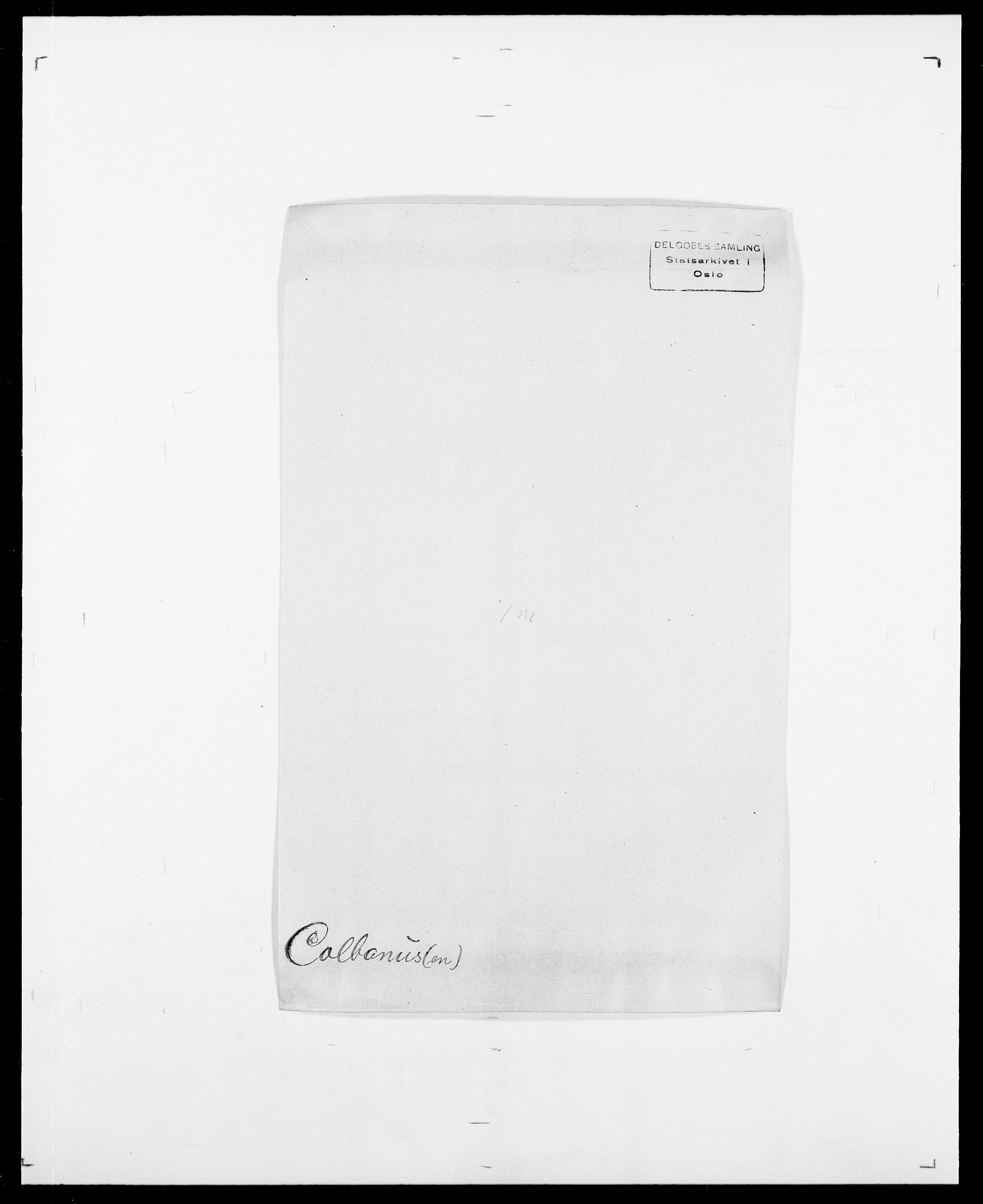 SAO, Delgobe, Charles Antoine - samling, D/Da/L0008: Capjon - Dagenbolt, s. 404