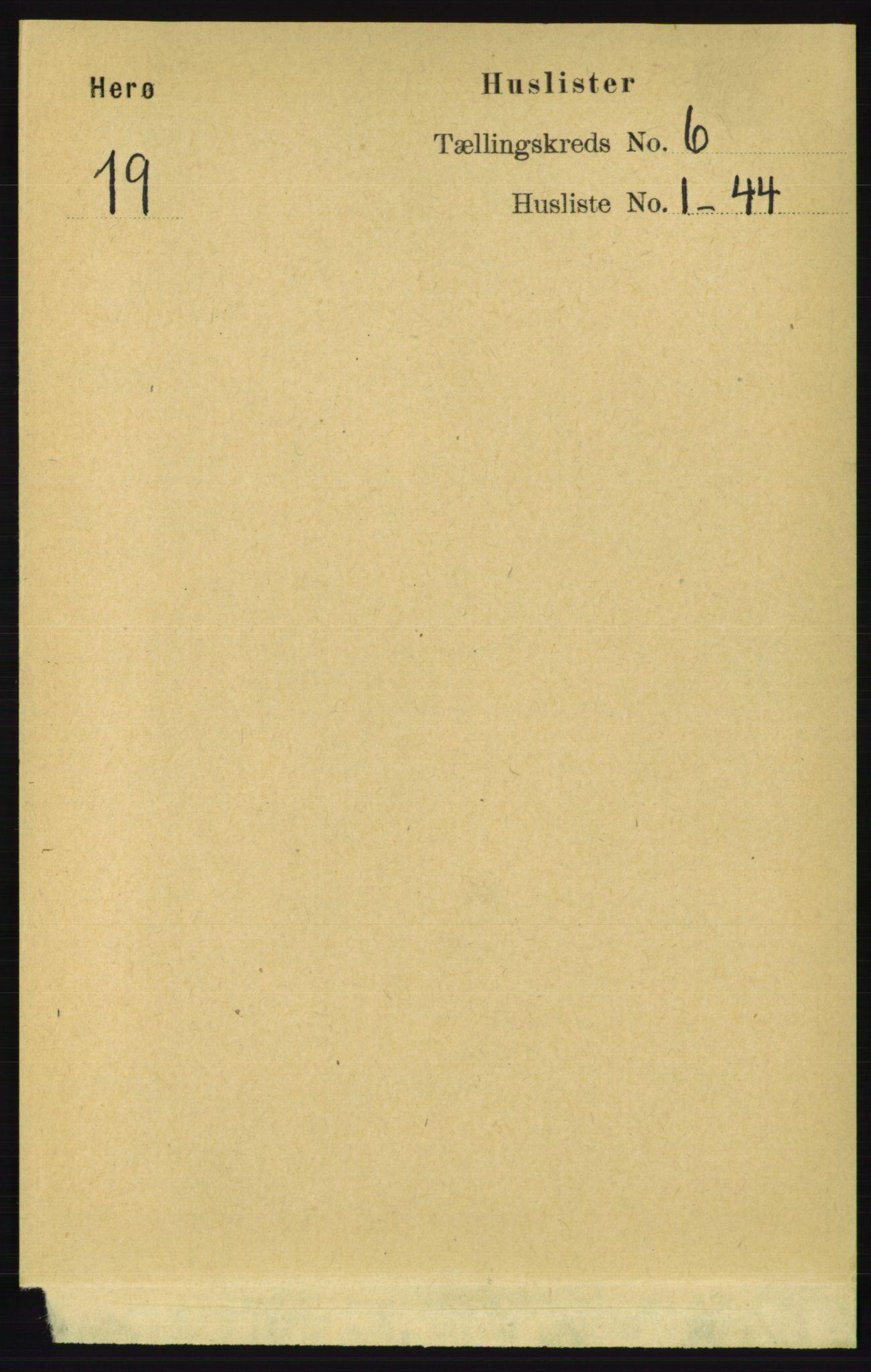 RA, Folketelling 1891 for 1818 Herøy herred, 1891, s. 1869