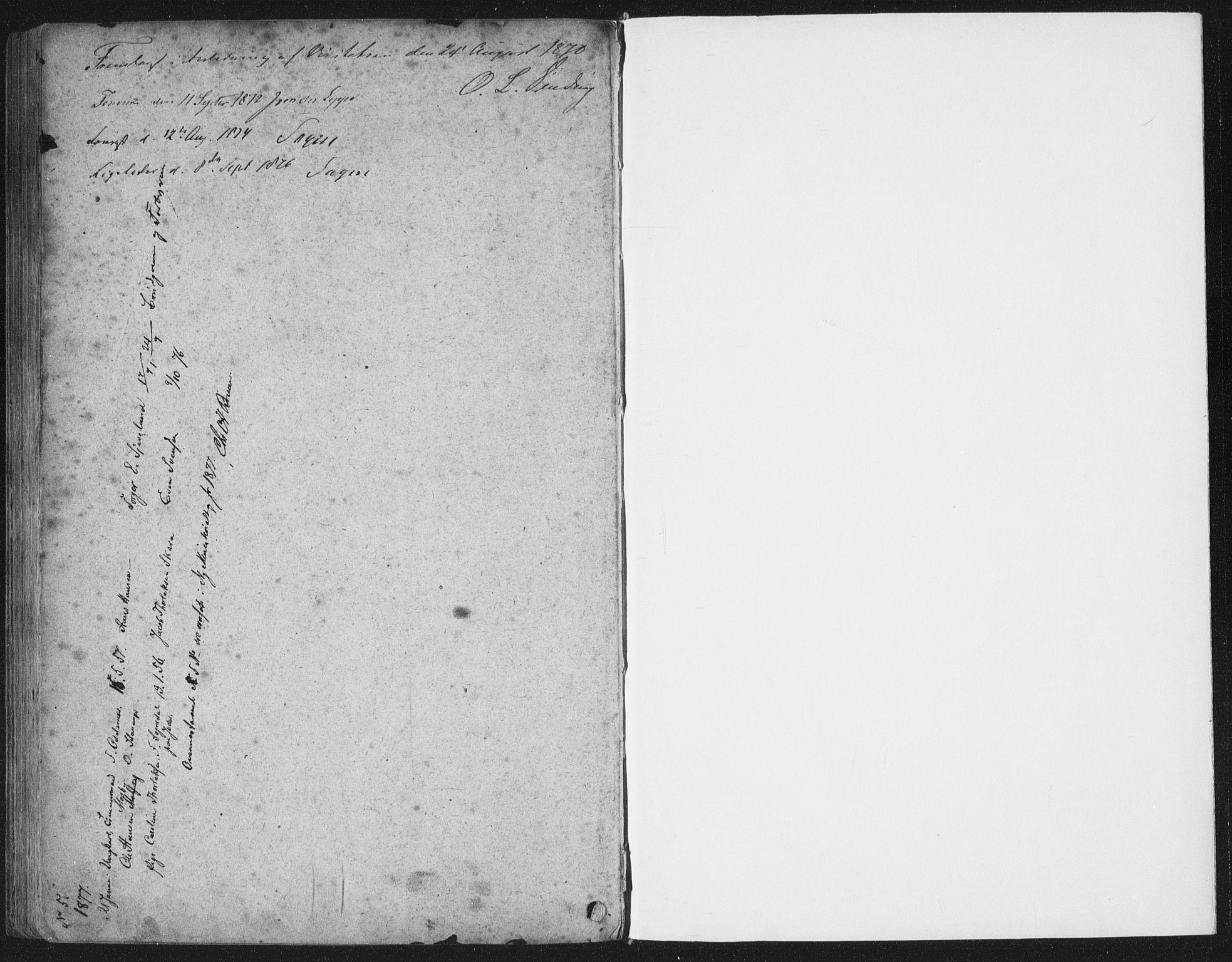 SAST, Domkirken sokneprestkontor, 30/30BA/L0019: Ministerialbok nr. A 18, 1857-1877