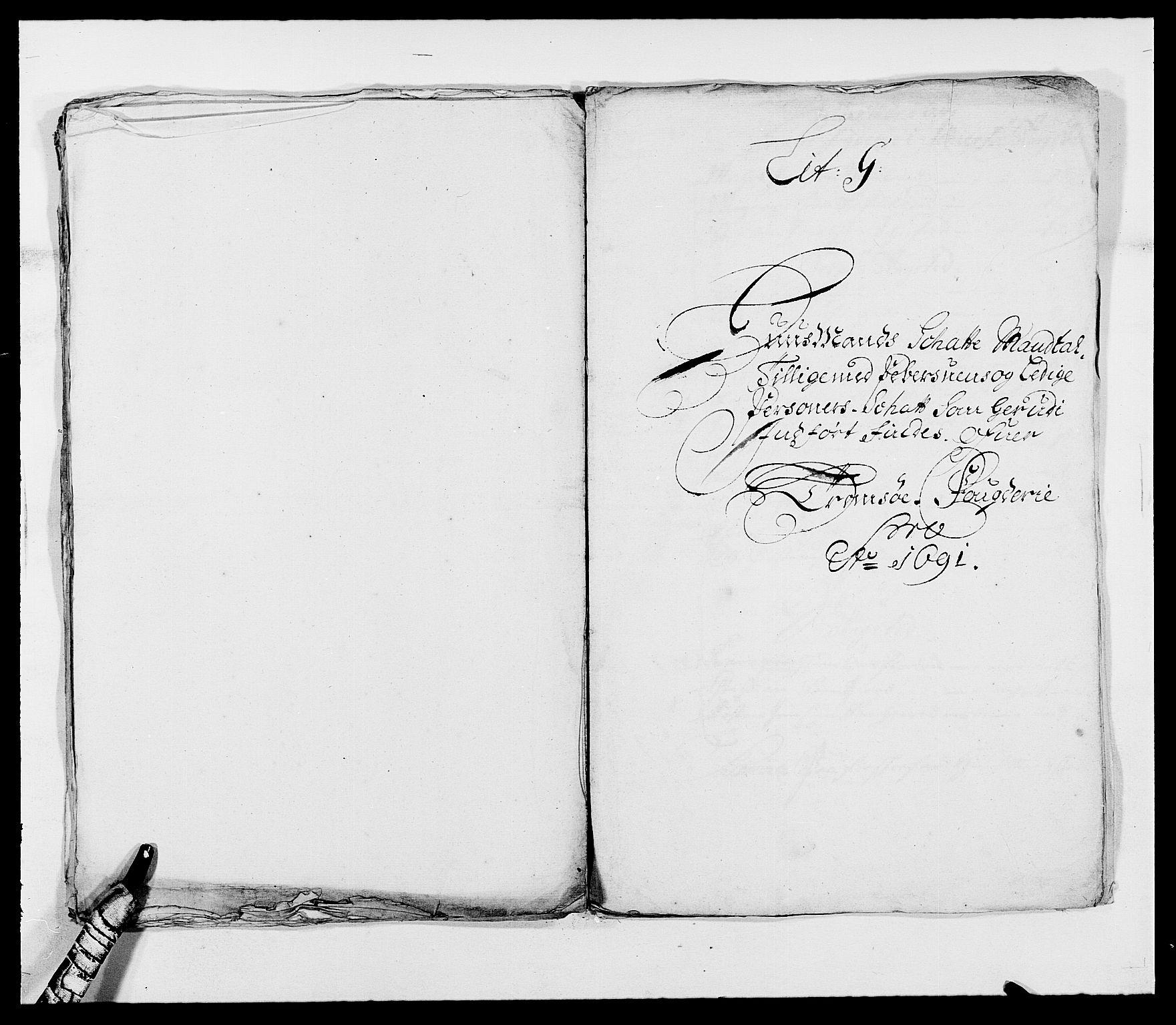 RA, Rentekammeret inntil 1814, Reviderte regnskaper, Fogderegnskap, R68/L4751: Fogderegnskap Senja og Troms, 1690-1693, s. 122