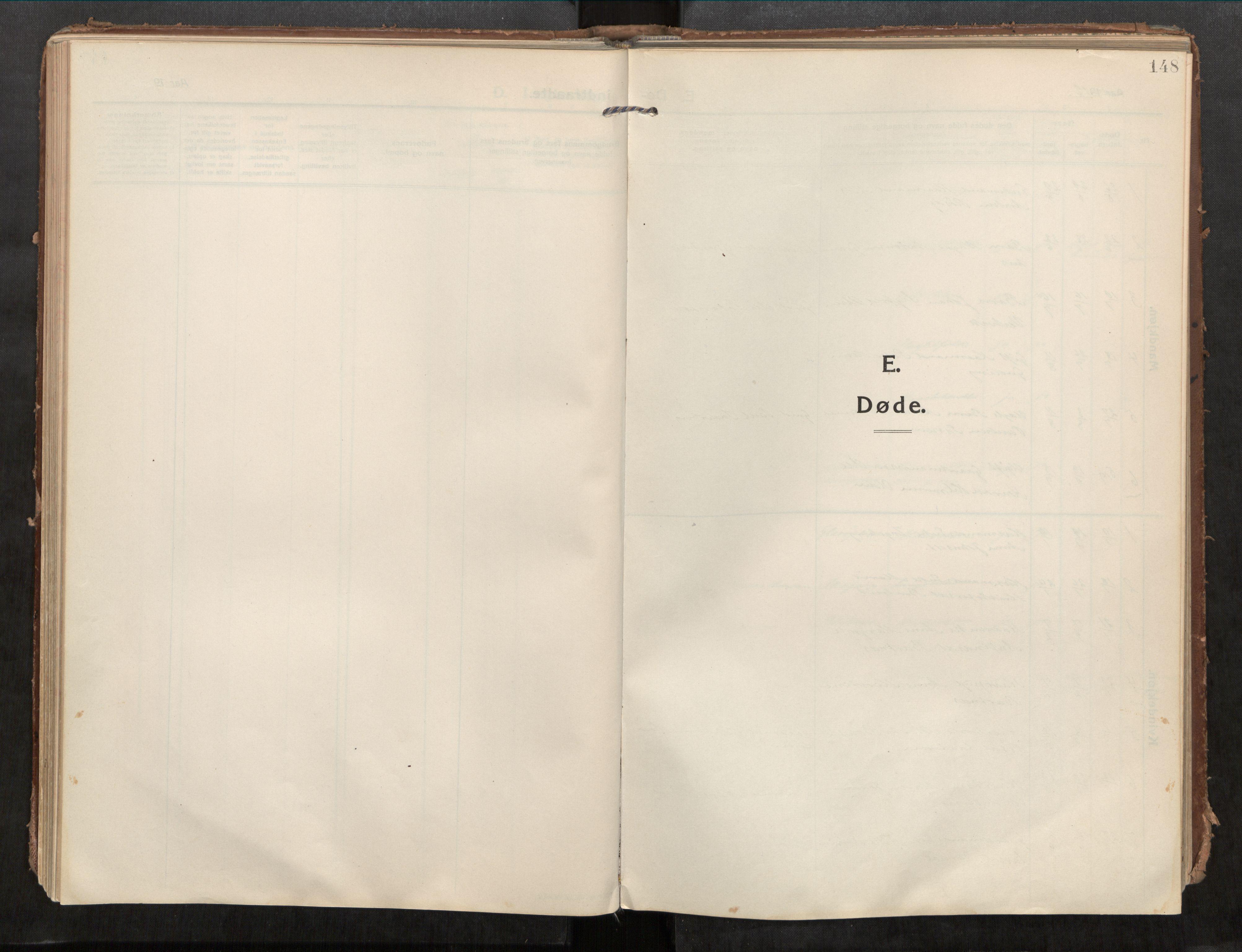 SAT, Beitstad sokneprestkontor, I/I1/I1a/L0001: Ministerialbok nr. 1, 1912-1927, s. 148