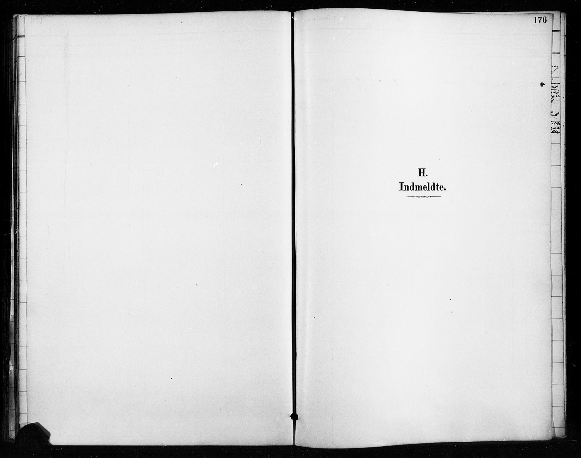 SAH, Gran prestekontor, Ministerialbok nr. 18, 1889-1899, s. 176