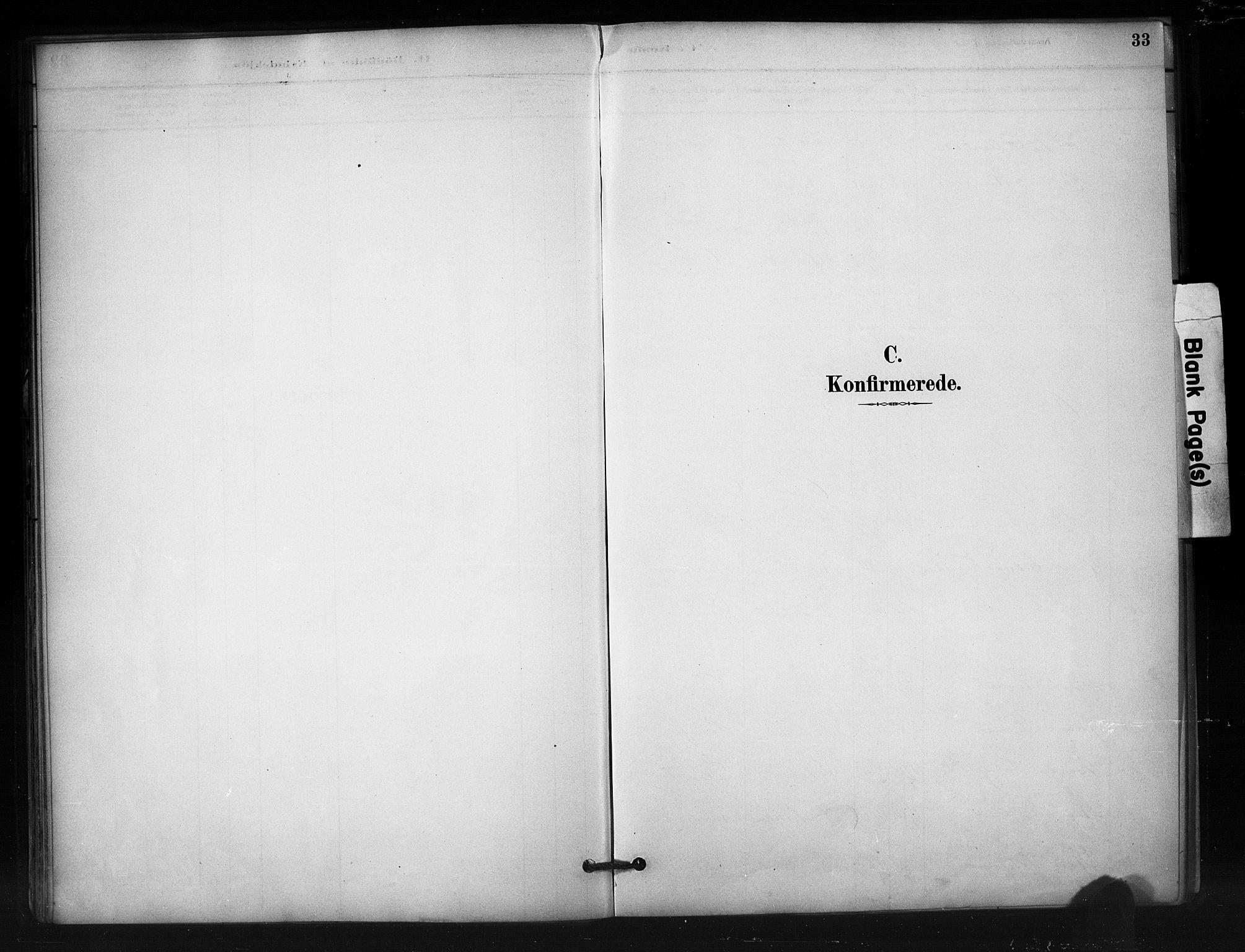 SAH, Nord-Aurdal prestekontor, Ministerialbok nr. 12, 1883-1895, s. 33