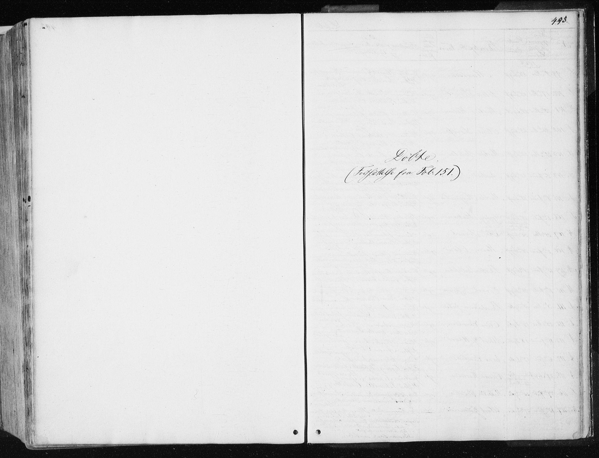 SAT, Ministerialprotokoller, klokkerbøker og fødselsregistre - Nord-Trøndelag, 741/L0393: Ministerialbok nr. 741A07, 1849-1863, s. 493