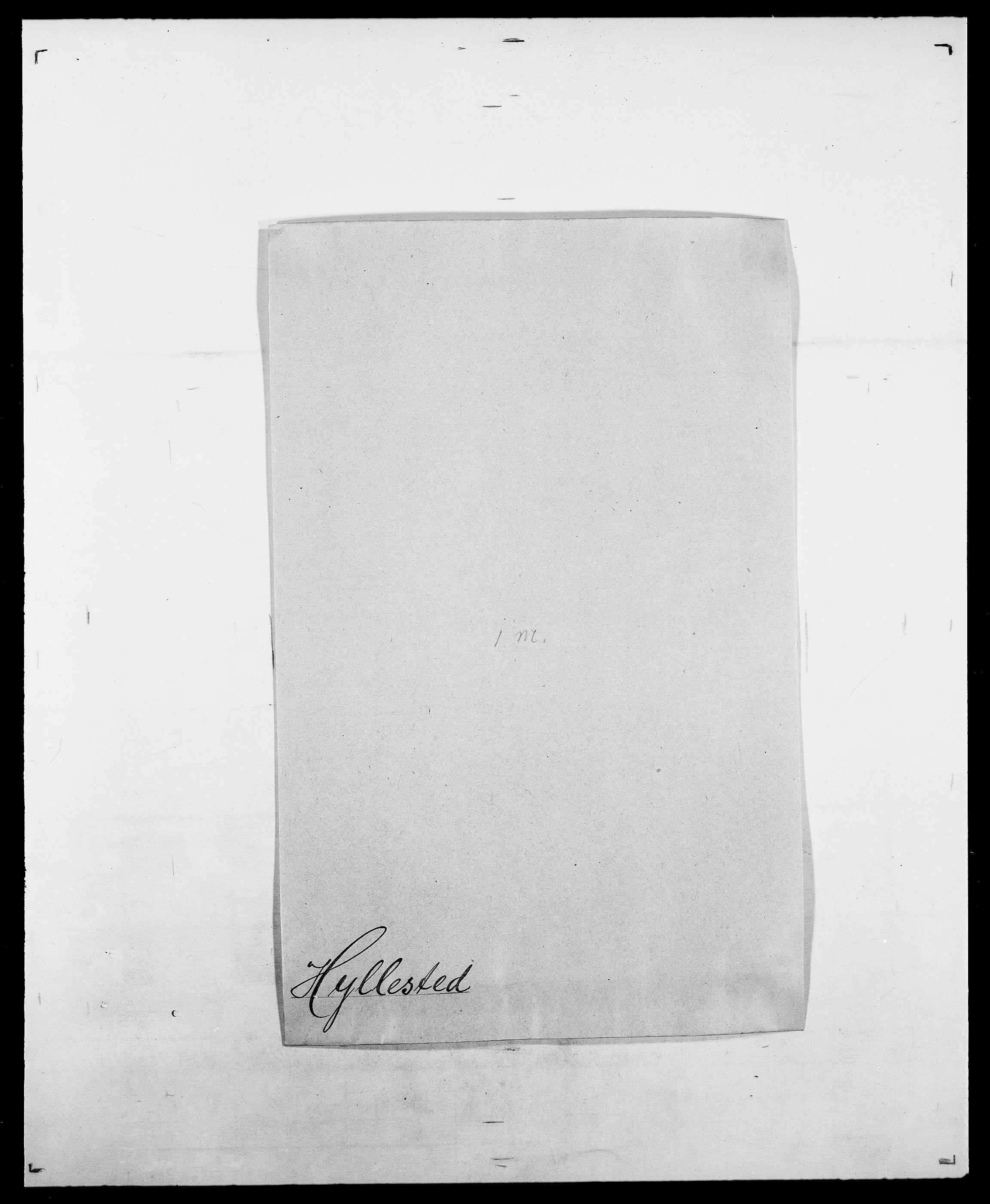 SAO, Delgobe, Charles Antoine - samling, D/Da/L0019: van der Hude - Joys, s. 271