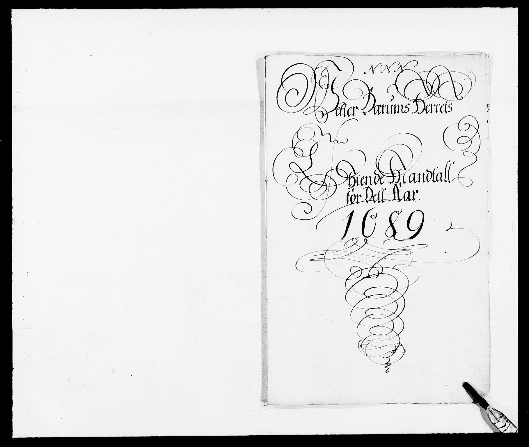 RA, Rentekammeret inntil 1814, Reviderte regnskaper, Fogderegnskap, R08/L0423: Fogderegnskap Aker, 1687-1689, s. 19