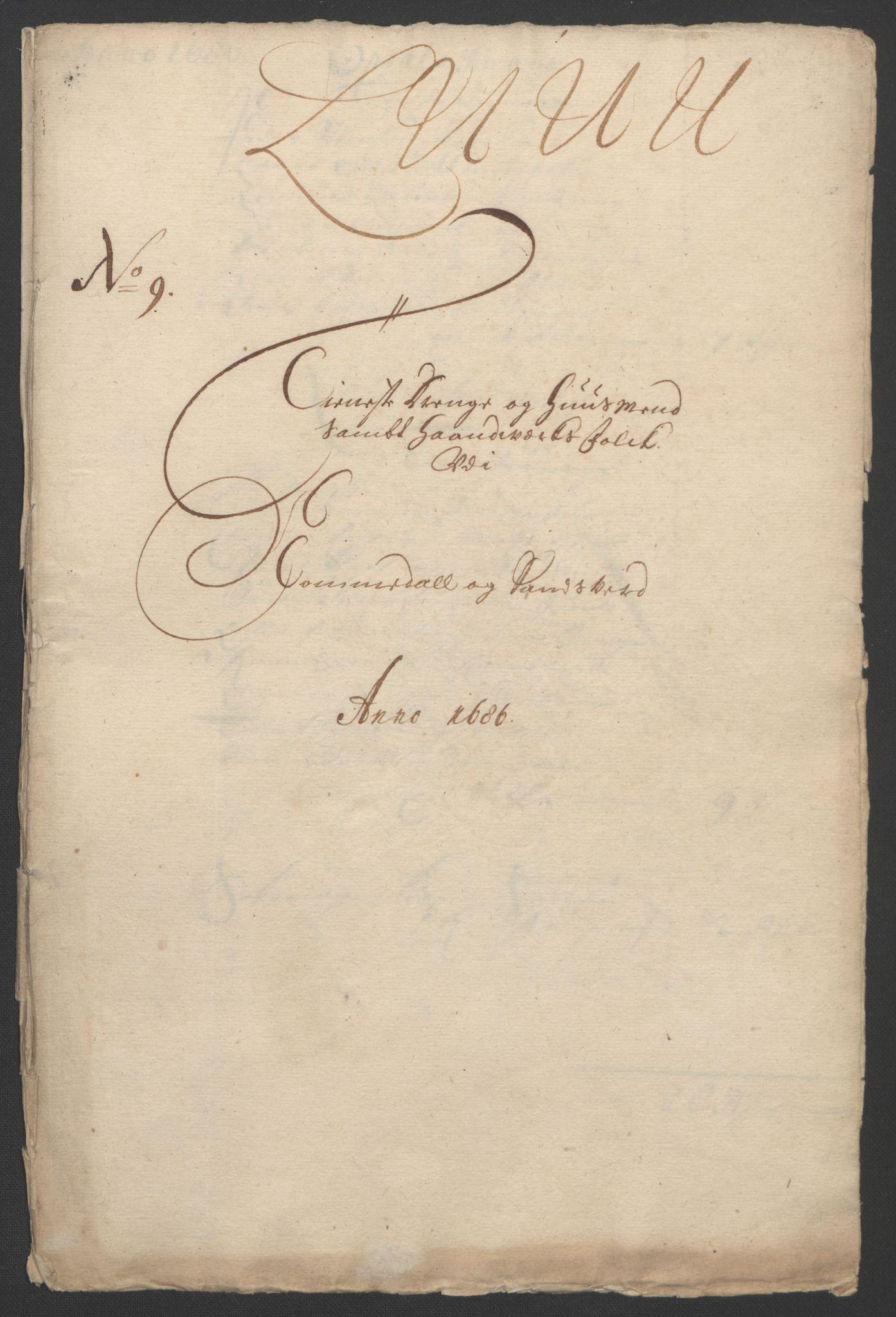 RA, Rentekammeret inntil 1814, Reviderte regnskaper, Fogderegnskap, R24/L1572: Fogderegnskap Numedal og Sandsvær, 1679-1686, s. 166
