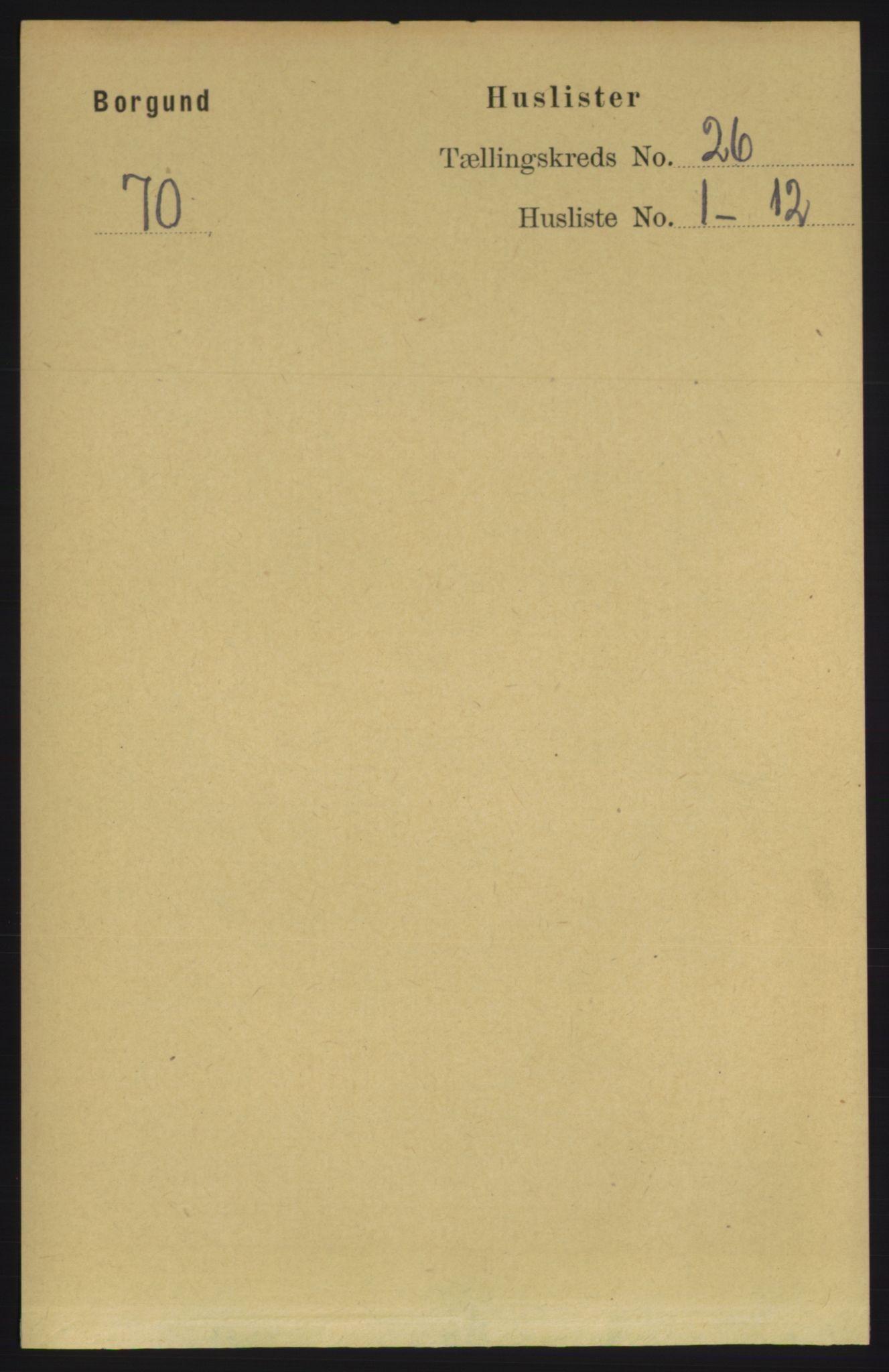RA, Folketelling 1891 for 1531 Borgund herred, 1891, s. 7578