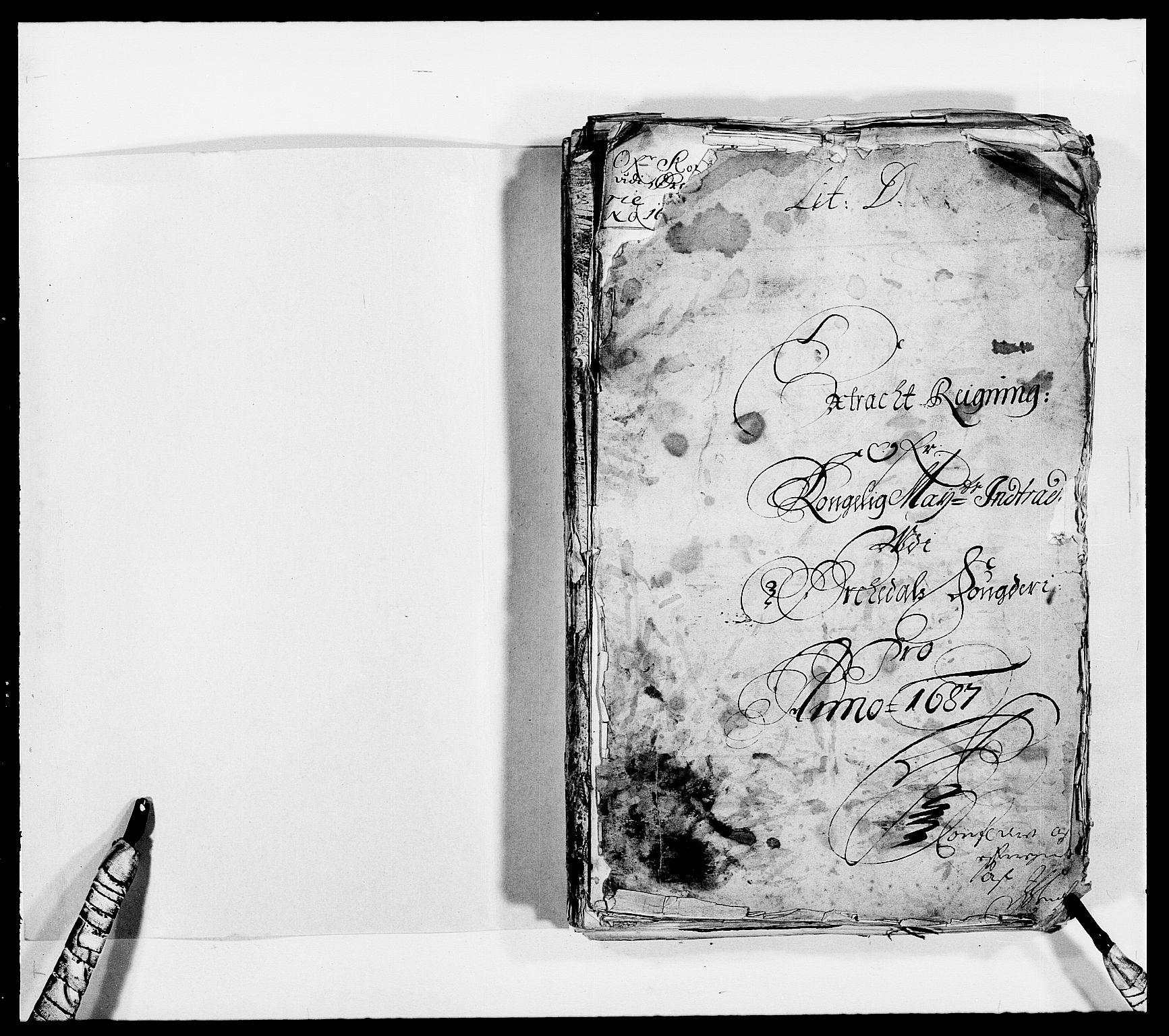 RA, Rentekammeret inntil 1814, Reviderte regnskaper, Fogderegnskap, R58/L3935: Fogderegnskap Orkdal, 1687-1688, s. 2