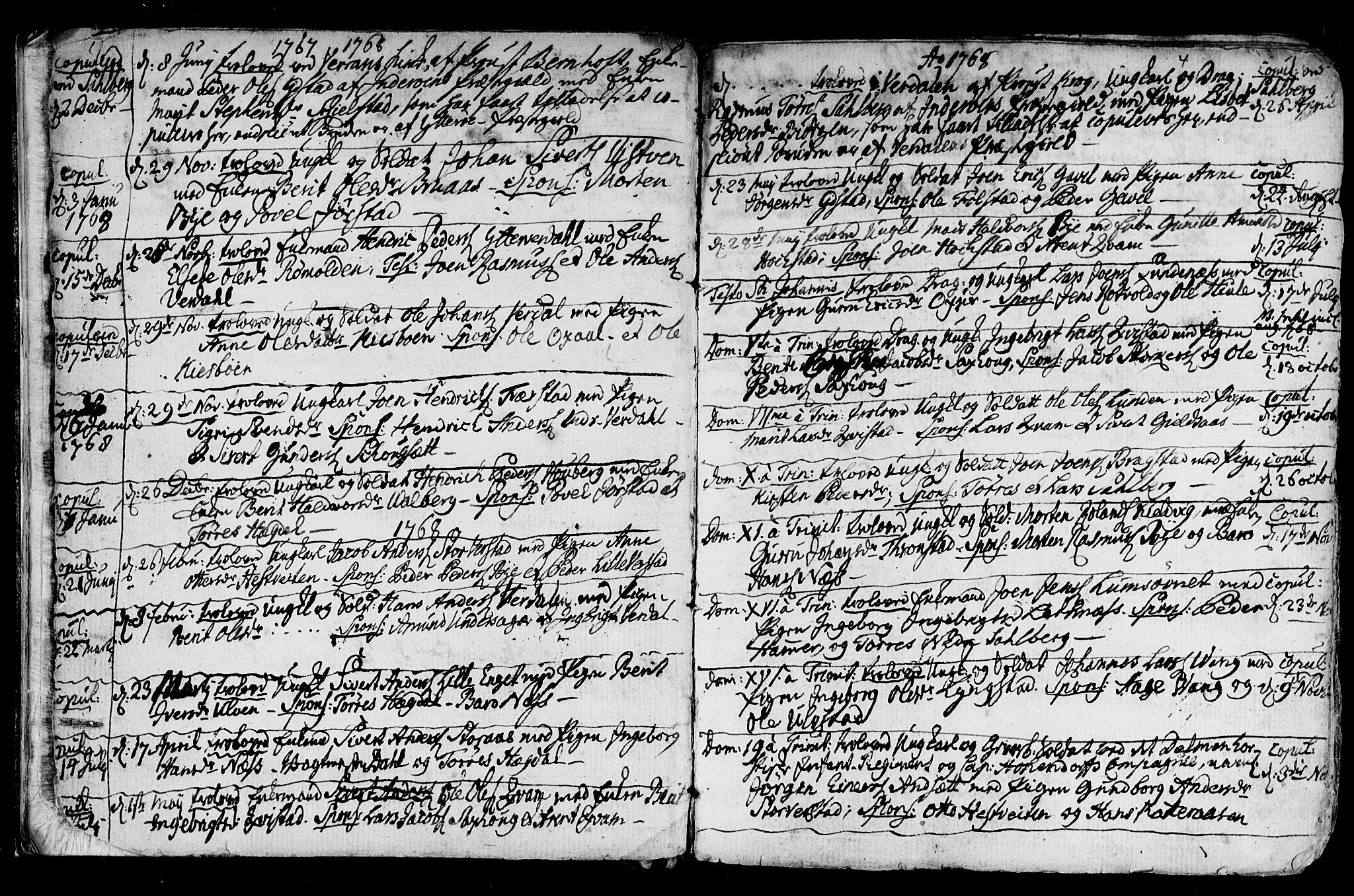 SAT, Ministerialprotokoller, klokkerbøker og fødselsregistre - Nord-Trøndelag, 730/L0273: Ministerialbok nr. 730A02, 1762-1802, s. 4