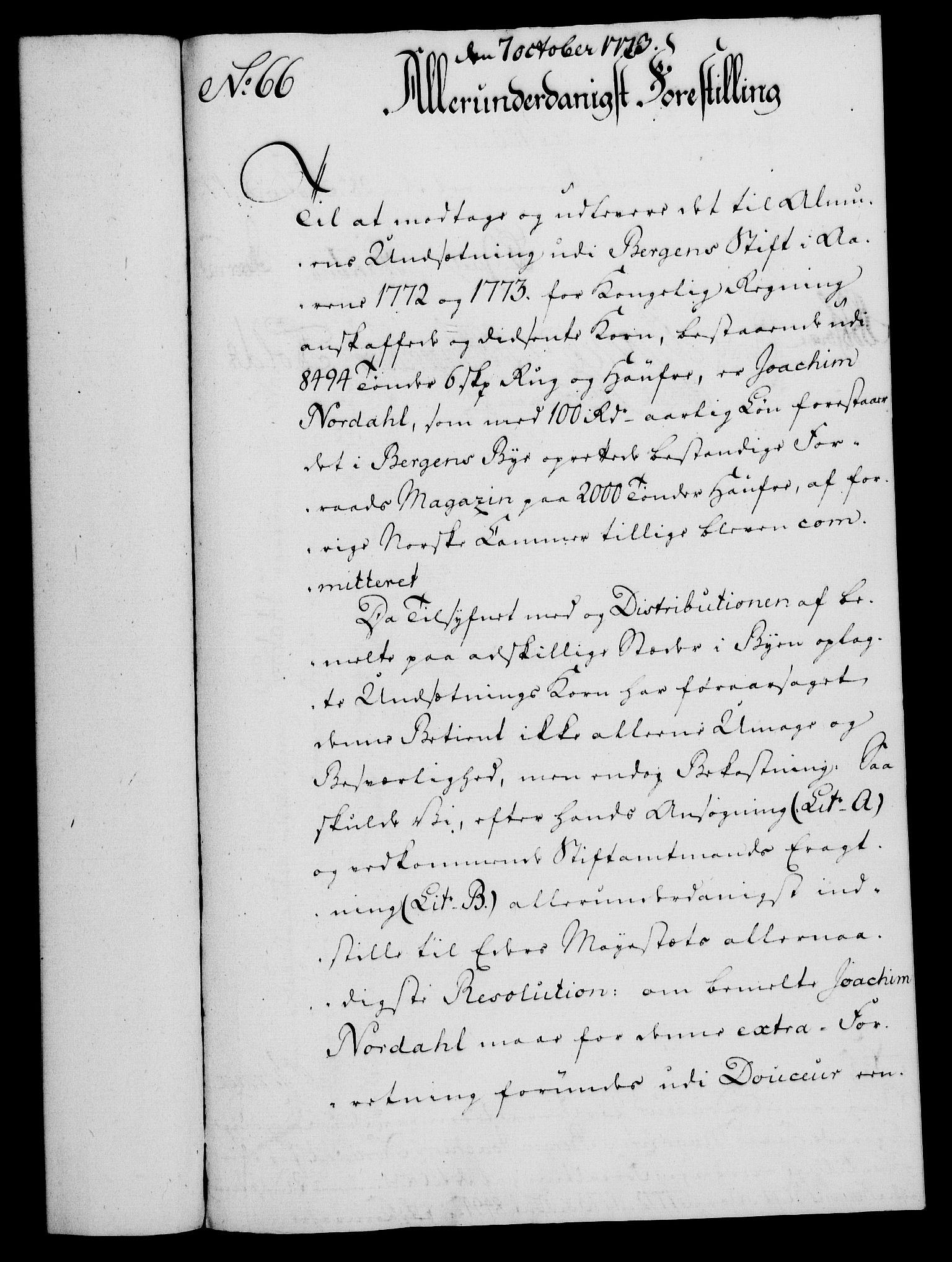 RA, Rentekammeret, Kammerkanselliet, G/Gf/Gfa/L0055: Norsk relasjons- og resolusjonsprotokoll (merket RK 52.55), 1773, s. 250