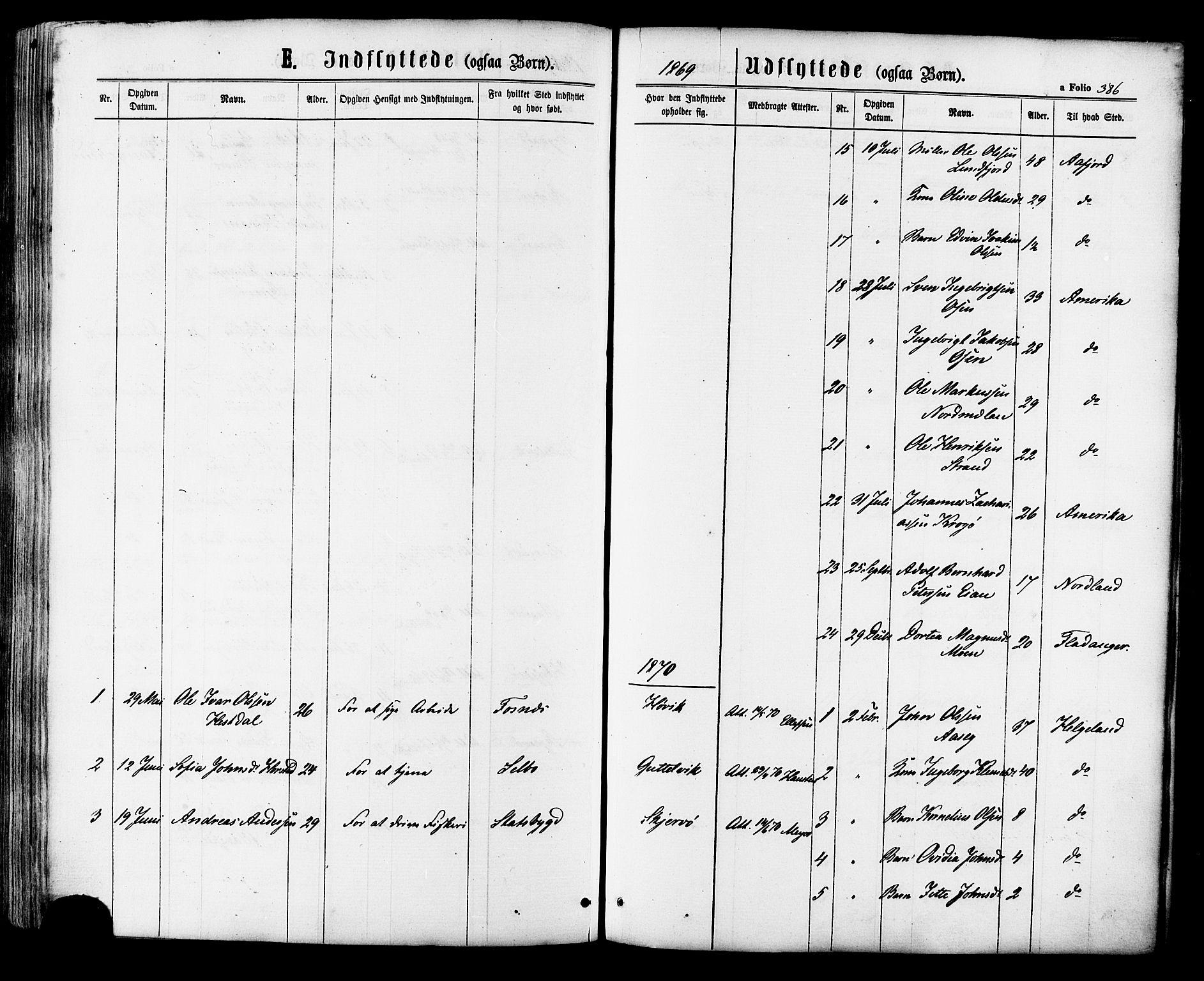SAT, Ministerialprotokoller, klokkerbøker og fødselsregistre - Sør-Trøndelag, 657/L0706: Ministerialbok nr. 657A07, 1867-1878, s. 386
