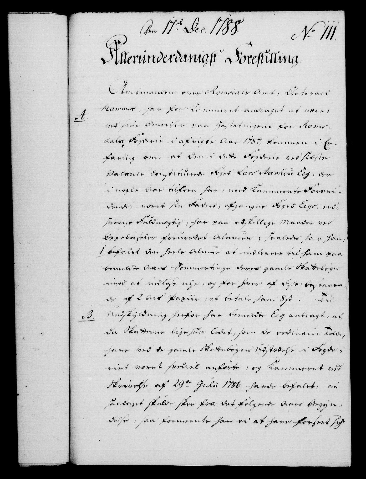 RA, Rentekammeret, Kammerkanselliet, G/Gf/Gfa/L0070: Norsk relasjons- og resolusjonsprotokoll (merket RK 52.70), 1788, s. 638