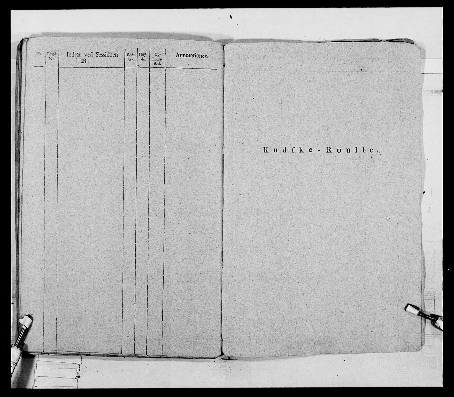 RA, Generalitets- og kommissariatskollegiet, Det kongelige norske kommissariatskollegium, E/Eh/L0069: Opplandske gevorbne infanteriregiment, 1810-1818, s. 103