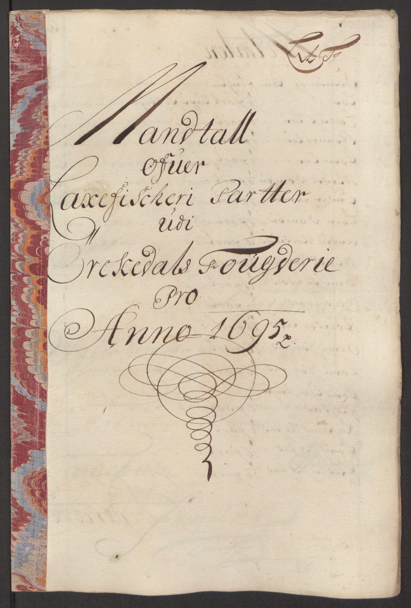 RA, Rentekammeret inntil 1814, Reviderte regnskaper, Fogderegnskap, R60/L3945: Fogderegnskap Orkdal og Gauldal, 1695, s. 145