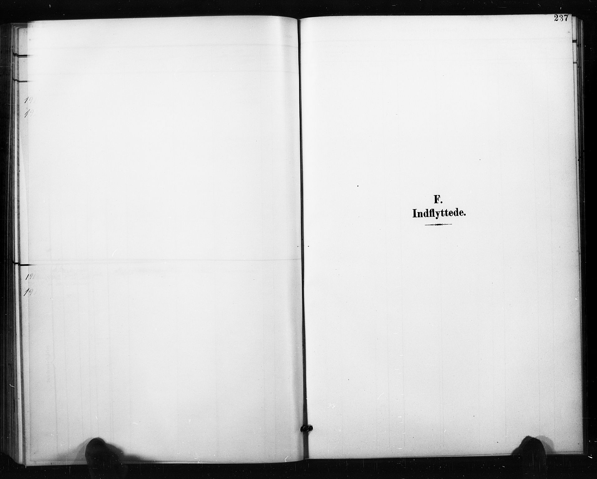 SAO, Aremark prestekontor Kirkebøker, G/Gb/L0001: Klokkerbok nr. II 1, 1901-1927, s. 237