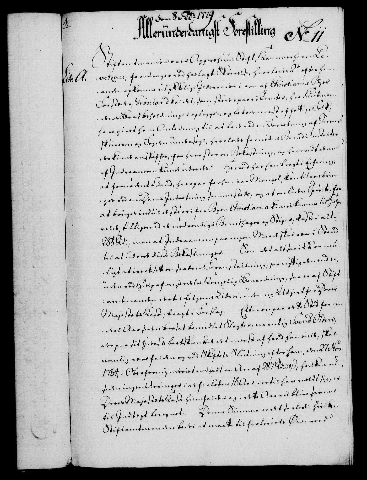 RA, Rentekammeret, Kammerkanselliet, G/Gf/Gfa/L0061: Norsk relasjons- og resolusjonsprotokoll (merket RK 52.61), 1779, s. 97