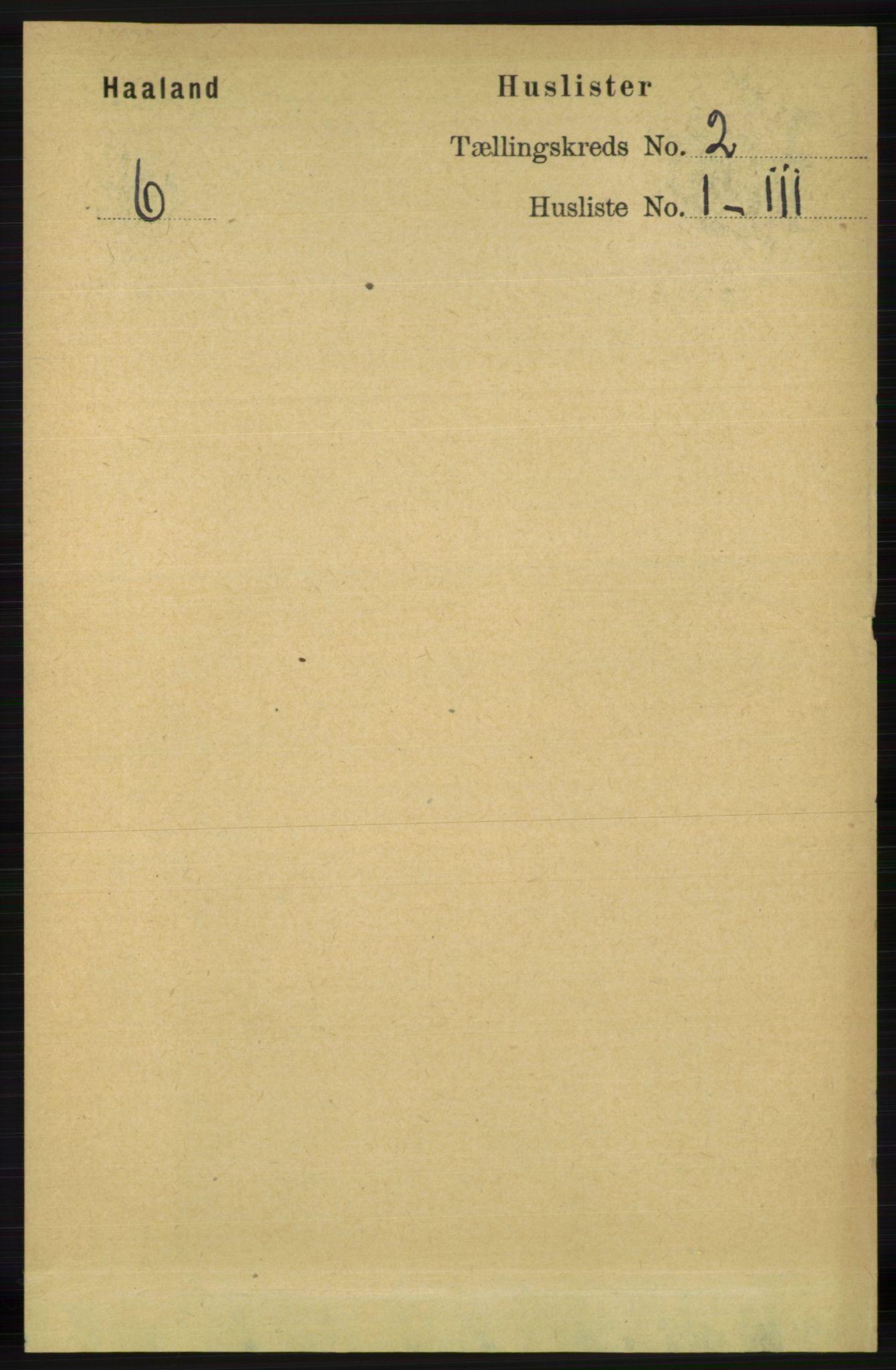 RA, Folketelling 1891 for 1124 Haaland herred, 1891, s. 863