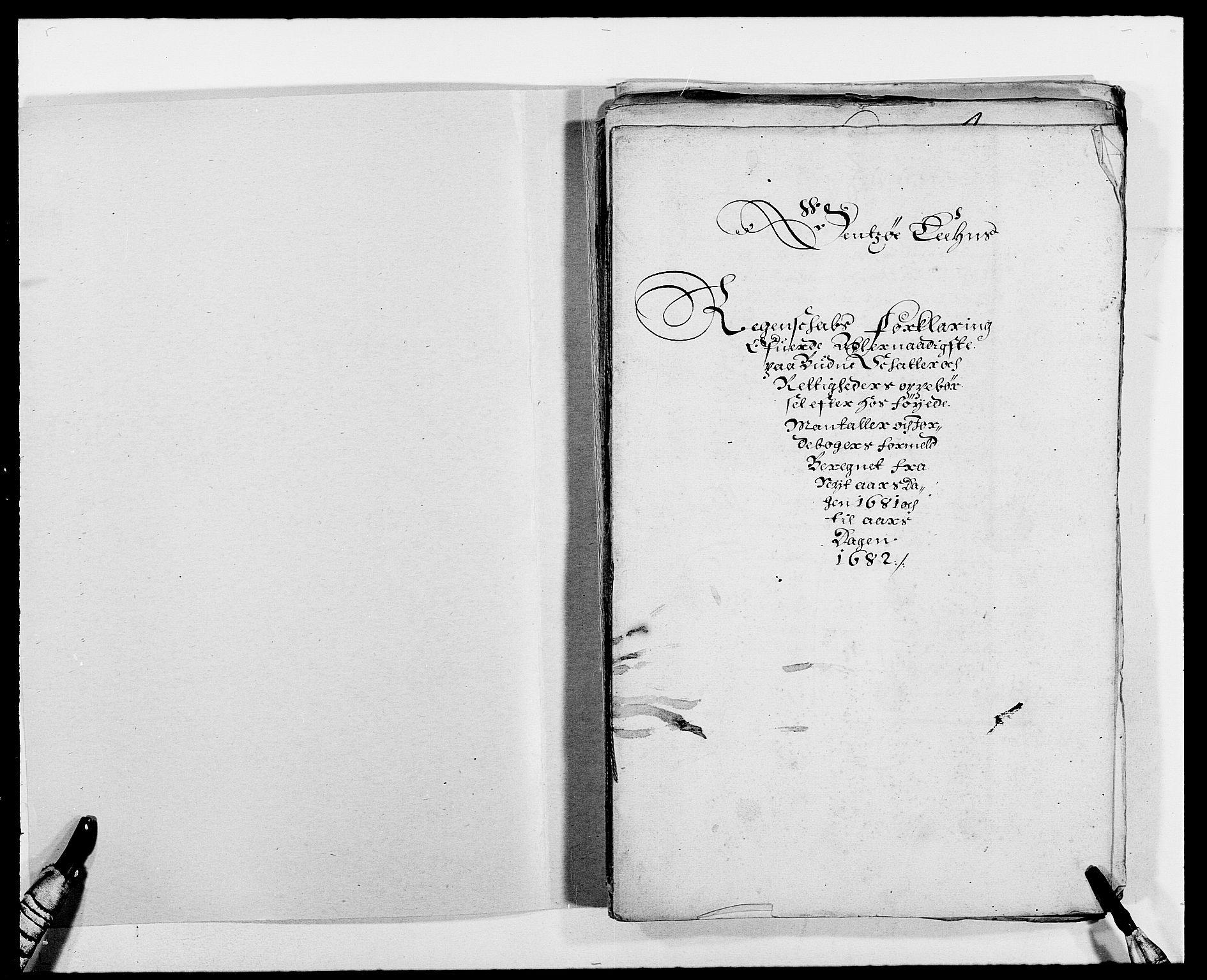 RA, Rentekammeret inntil 1814, Reviderte regnskaper, Fogderegnskap, R03/L0112: Fogderegnskap Onsøy, Tune, Veme og Åbygge fogderi, 1681-1683, s. 2