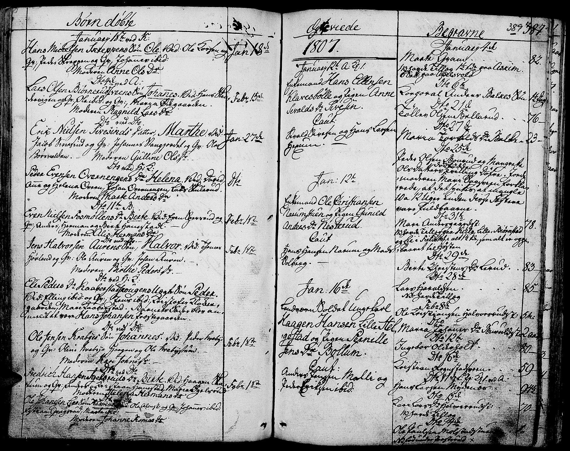 SAH, Toten prestekontor, Ministerialbok nr. 7, 1794-1809, s. 389