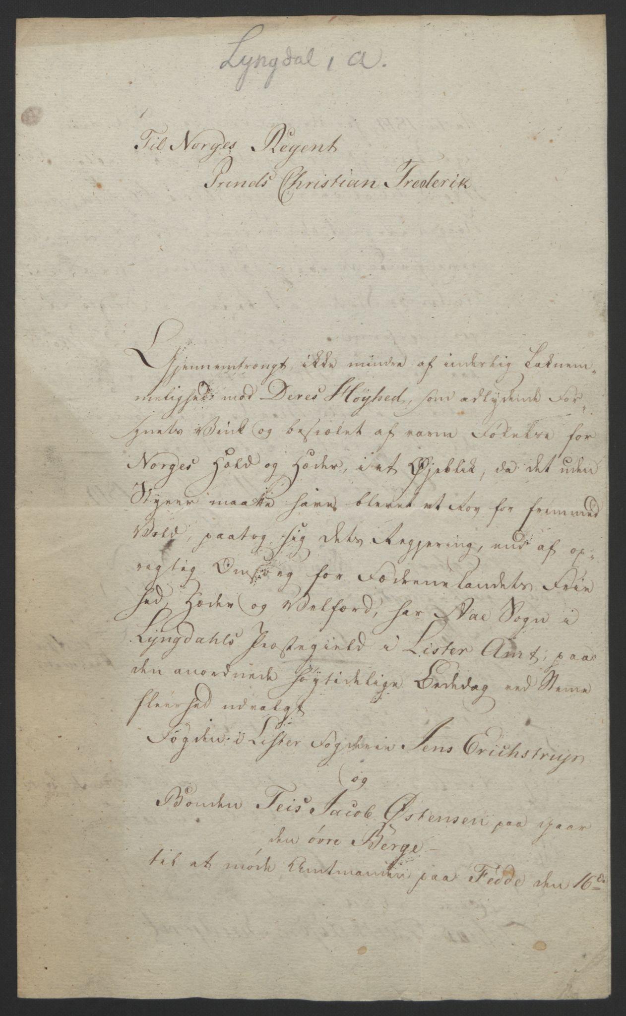 RA, Statsrådssekretariatet, D/Db/L0008: Fullmakter for Eidsvollsrepresentantene i 1814. , 1814, s. 169