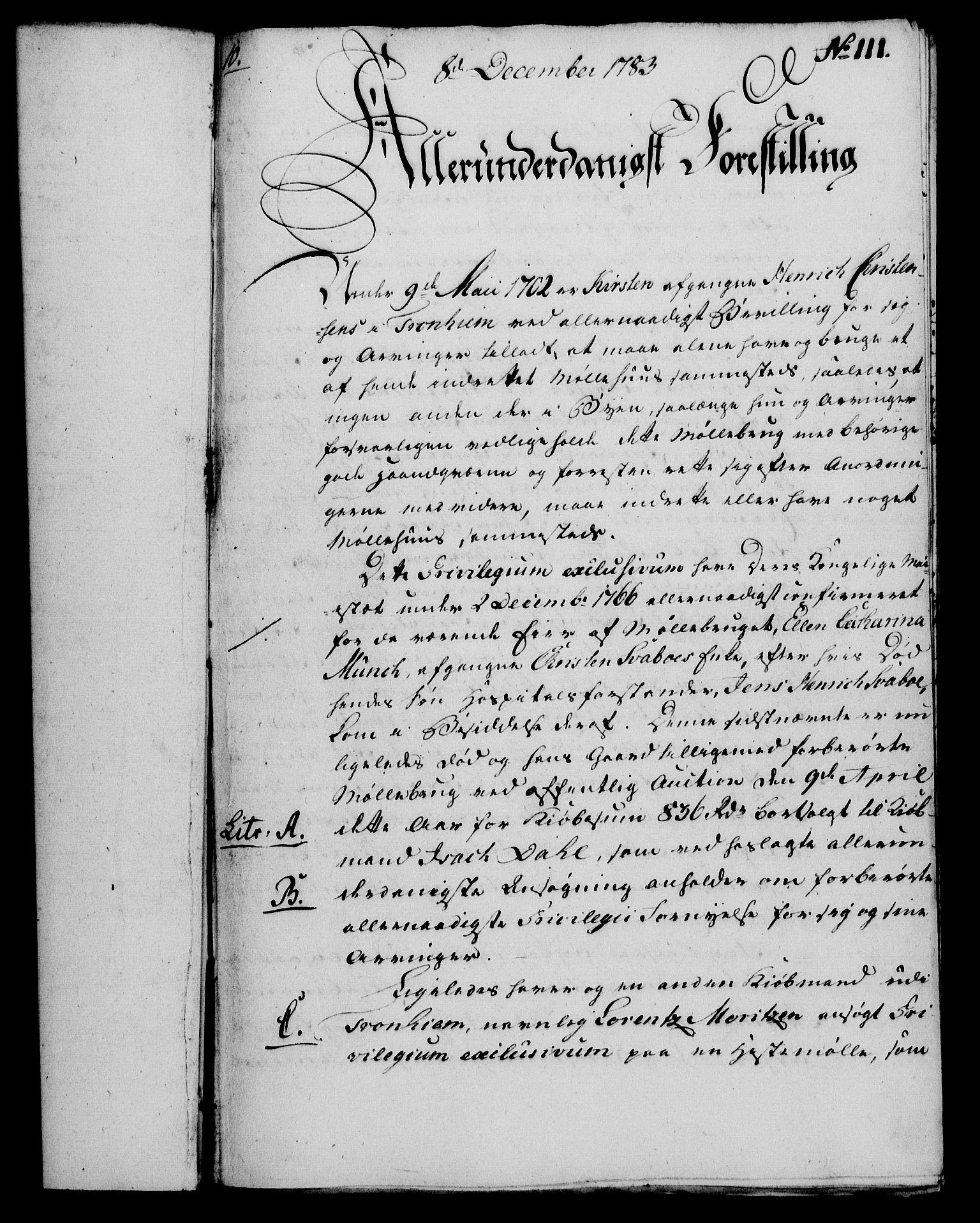 RA, Rentekammeret, Kammerkanselliet, G/Gf/Gfa/L0065: Norsk relasjons- og resolusjonsprotokoll (merket RK 52.65), 1783, s. 806