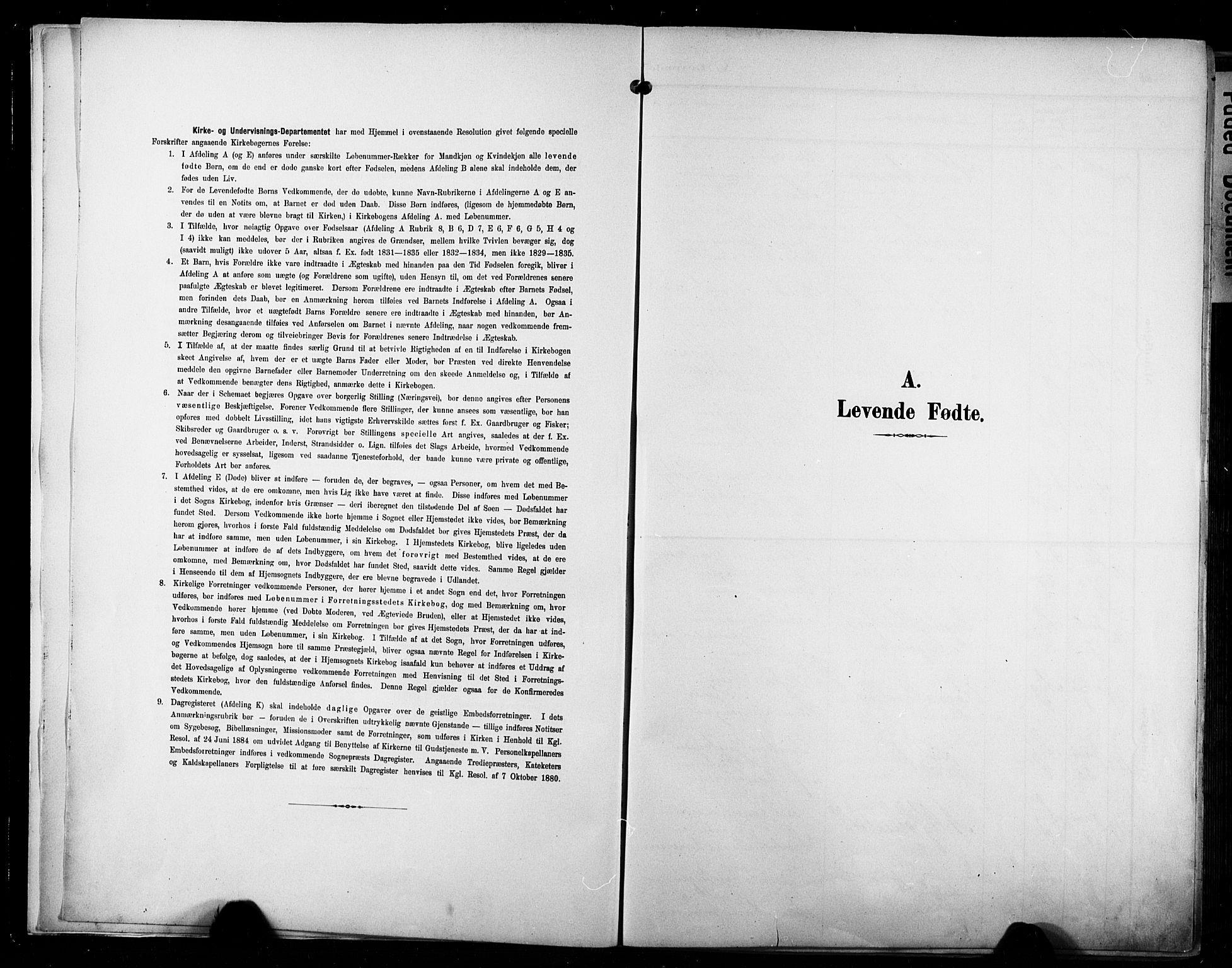 SAKO, Bragernes kirkebøker, G/Ga/L0004: Klokkerbok nr. 4, 1880-1911