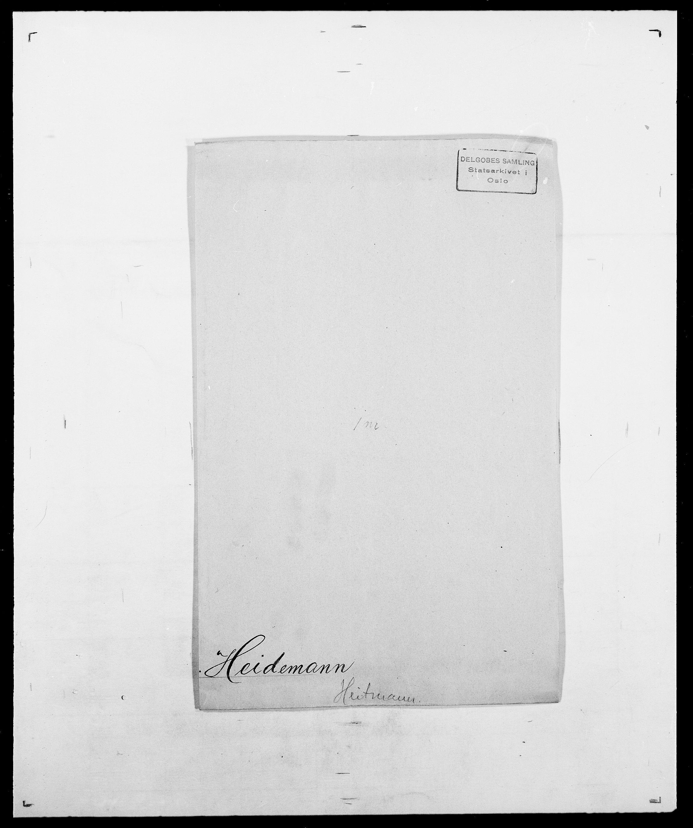 SAO, Delgobe, Charles Antoine - samling, D/Da/L0016: Hamborg - Hektoen, s. 812