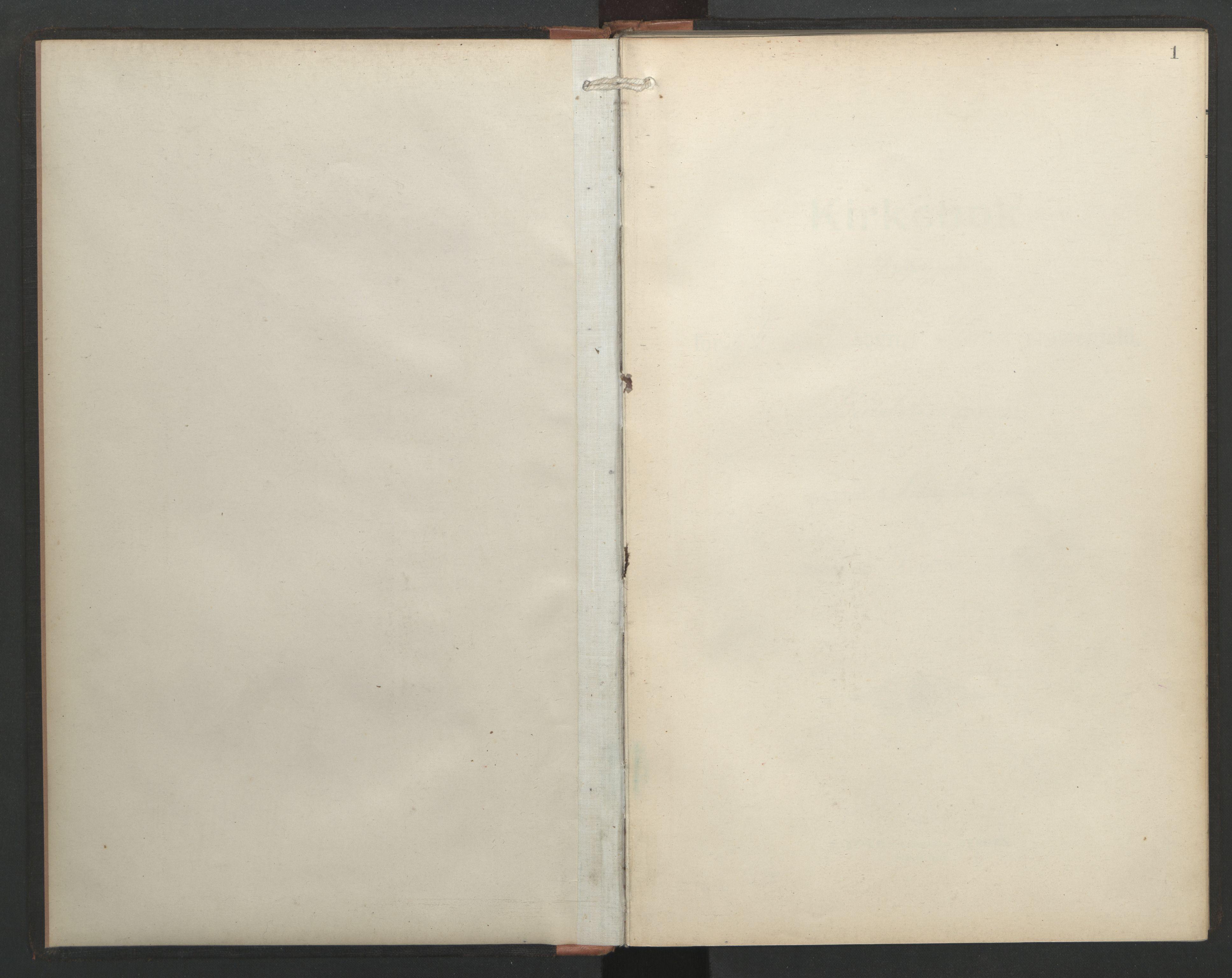 SAT, Ministerialprotokoller, klokkerbøker og fødselsregistre - Sør-Trøndelag, 687/L1006: Dagregister nr. 687A12, 1912-1931, s. 1