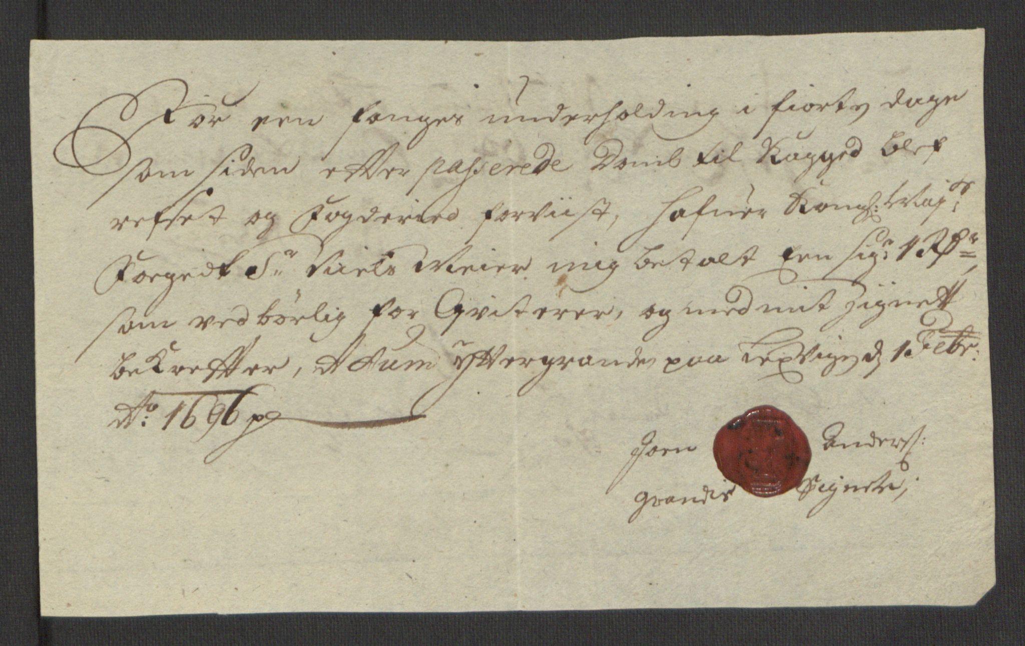RA, Rentekammeret inntil 1814, Reviderte regnskaper, Fogderegnskap, R62/L4187: Fogderegnskap Stjørdal og Verdal, 1695, s. 222