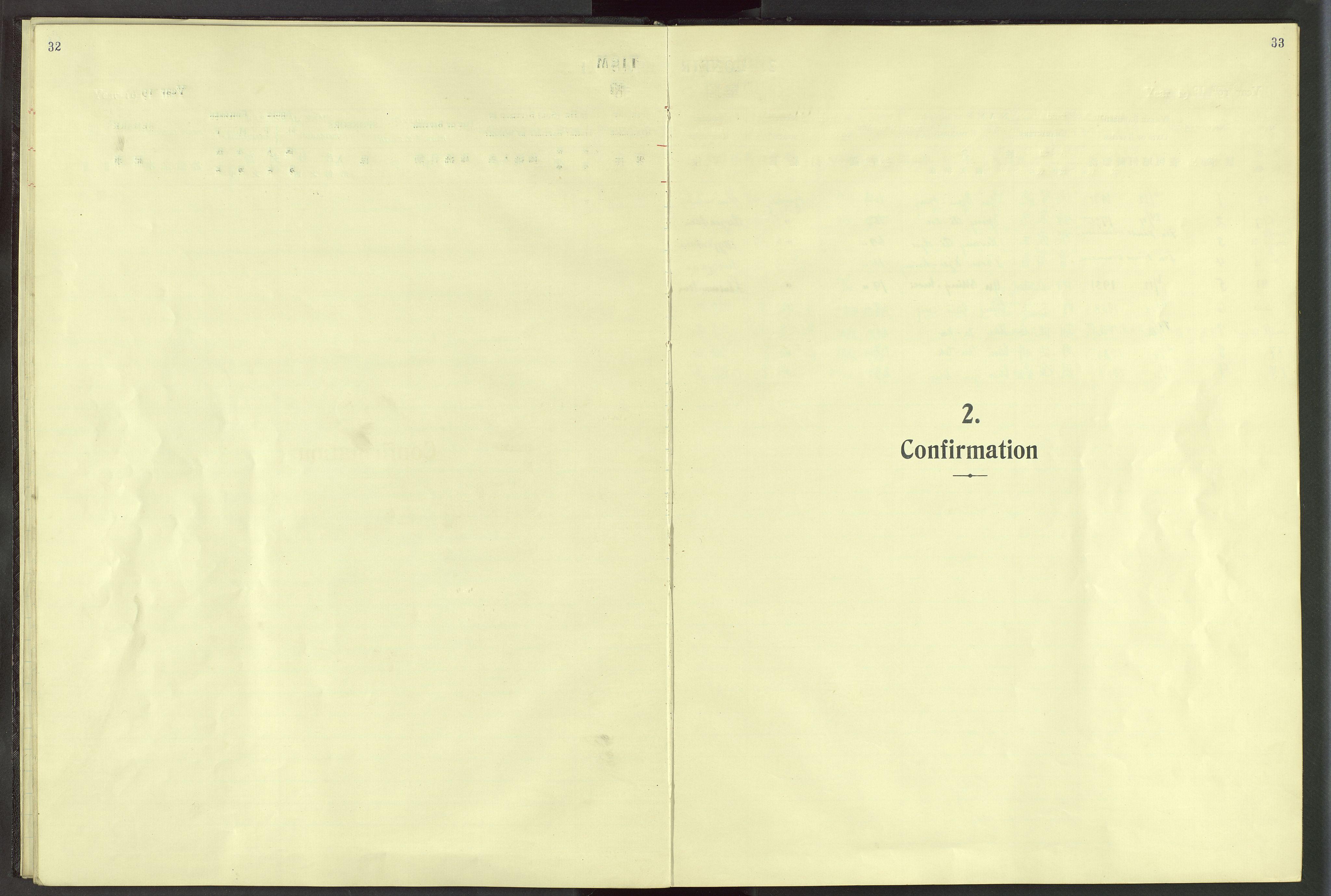 VID, Det Norske Misjonsselskap - utland - Kina (Hunan), Dm/L0024: Ministerialbok nr. 62, 1931-1948, s. 32-33