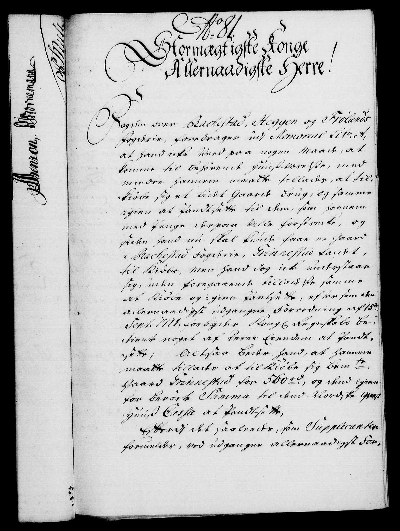 RA, Rentekammeret, Kammerkanselliet, G/Gf/Gfa/L0021: Norsk relasjons- og resolusjonsprotokoll (merket RK 52.21), 1738, s. 439