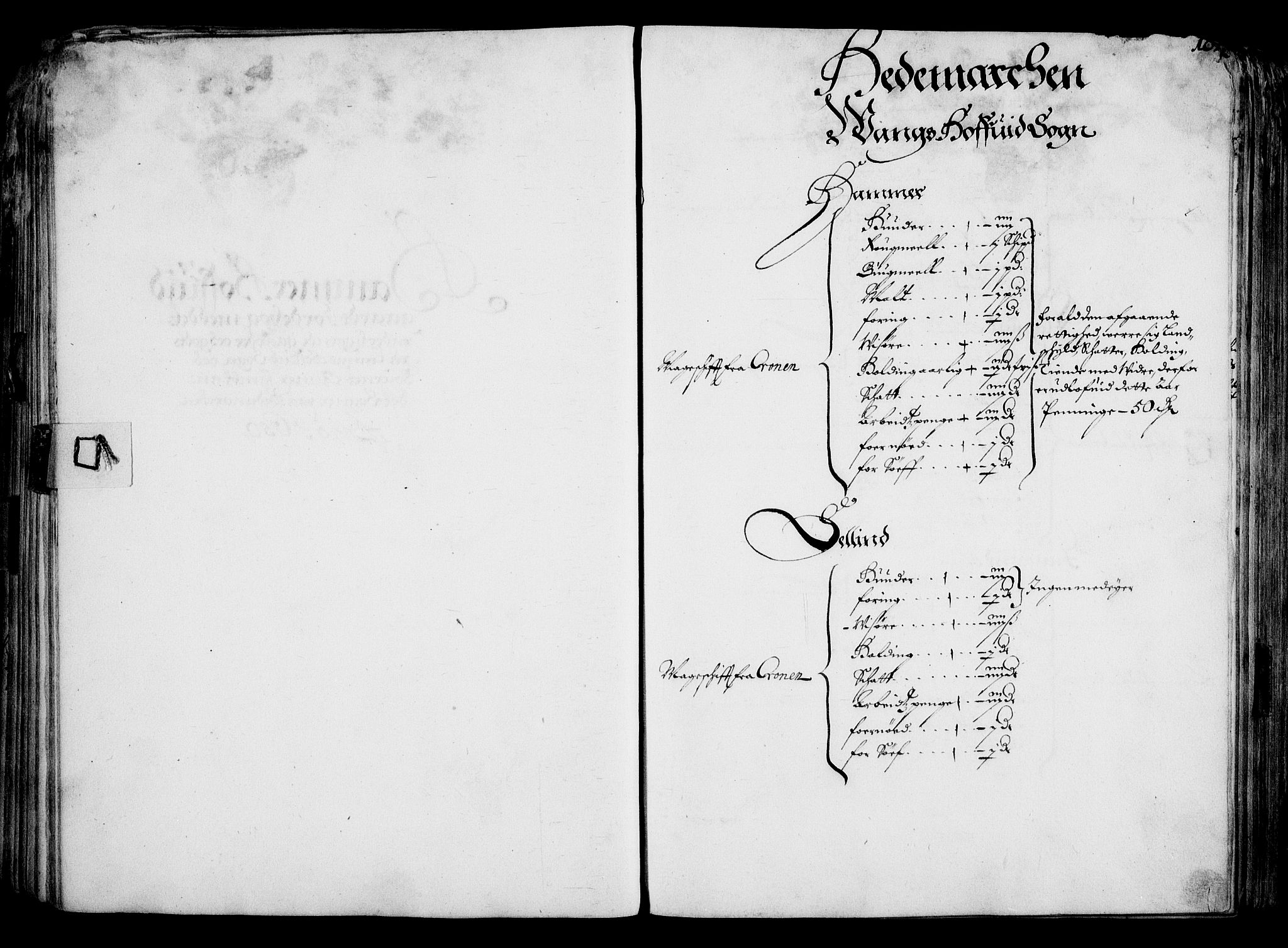RA, Rentekammeret inntil 1814, Realistisk ordnet avdeling, On/L0001: Statens gods, 1651, s. 96